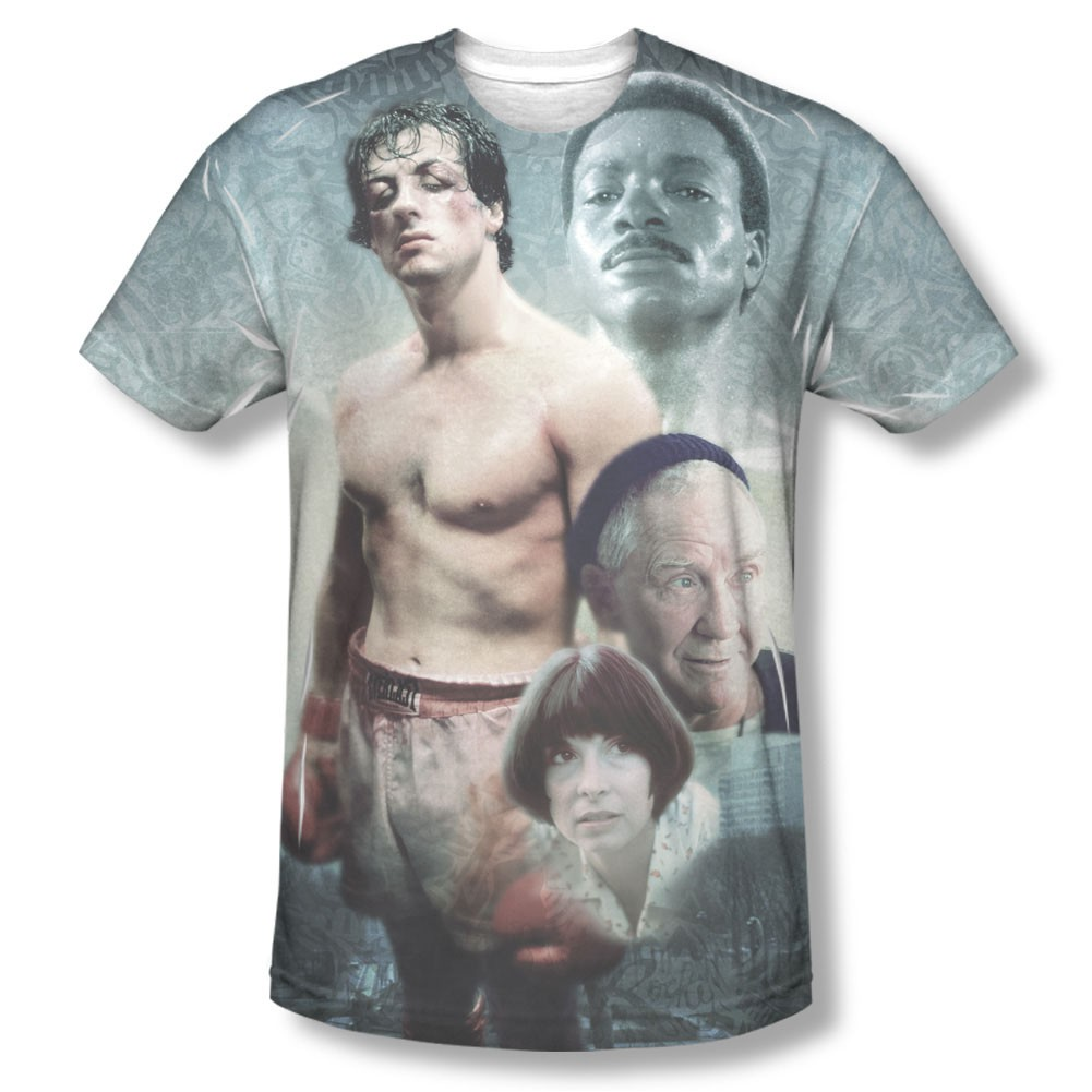 Rocky Montage Sublimation T-Shirt