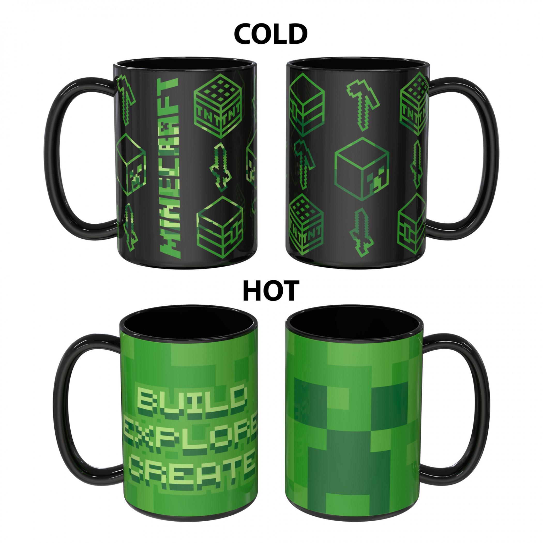Minecraft Color Change Mug