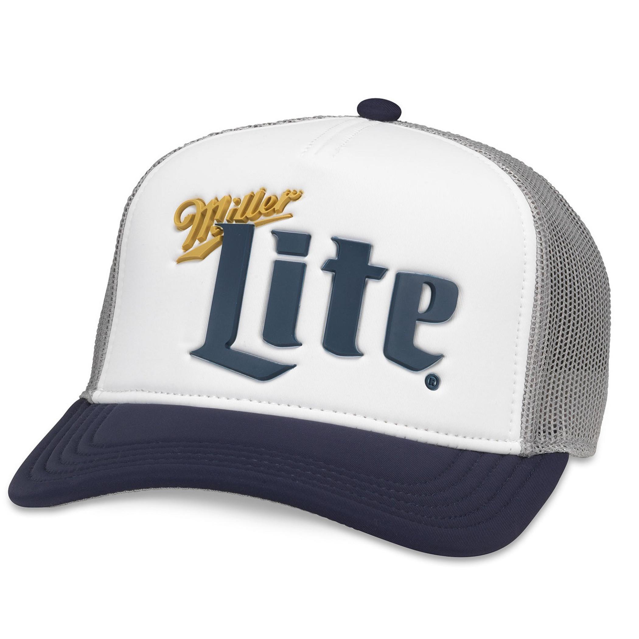 Miller Lite Beer Vintage Trucker Hat