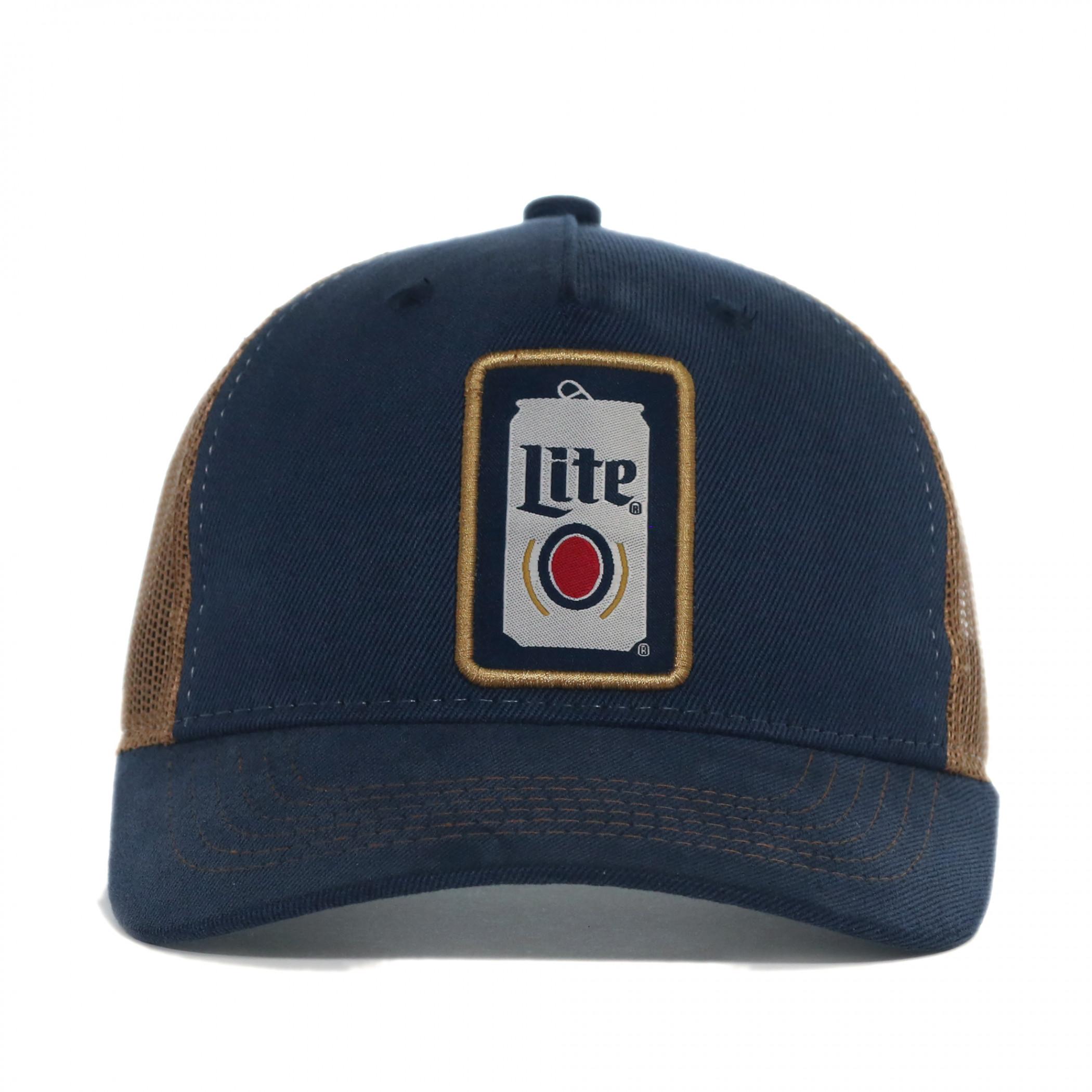Miller Lite Beer Can Adjustable Trucker Hat