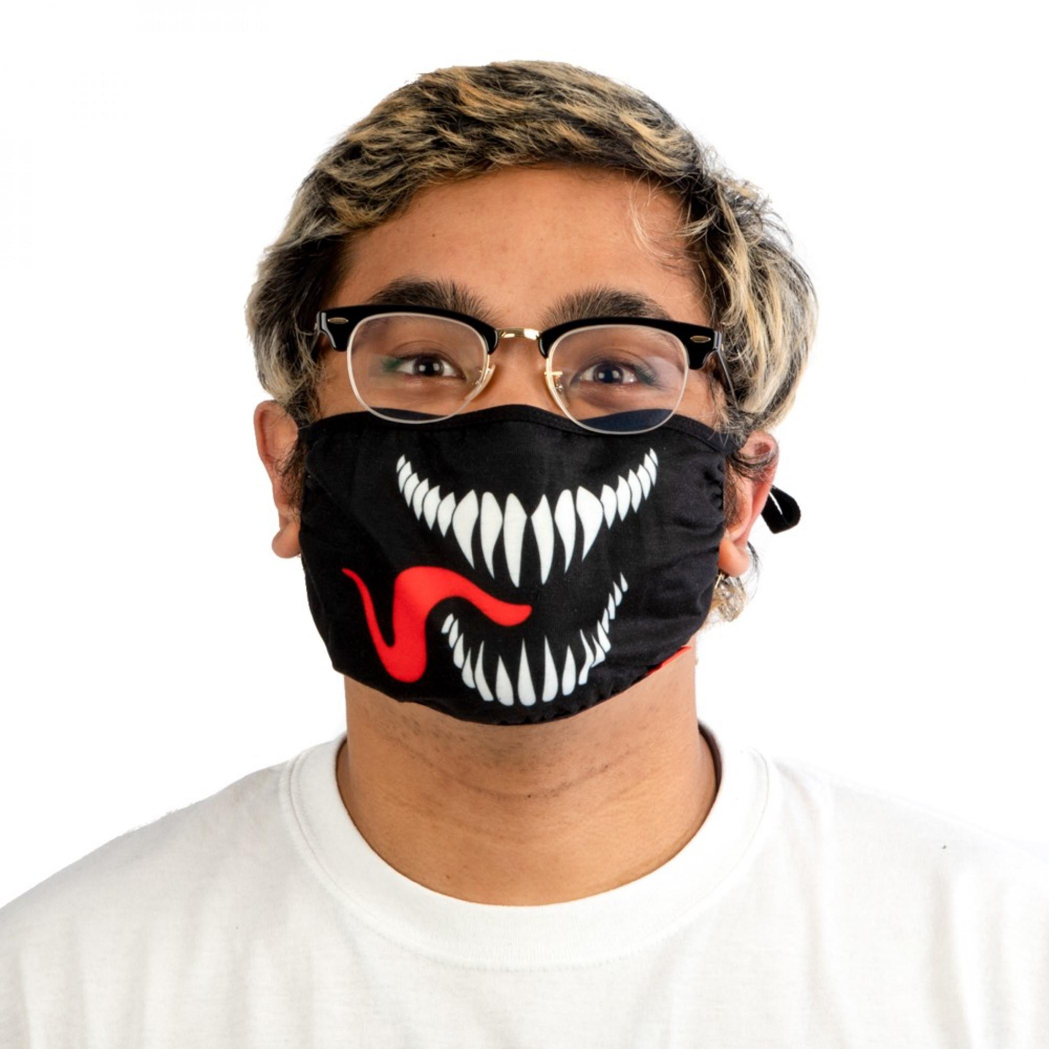 Marvel Venom Adjustable Face Cover
