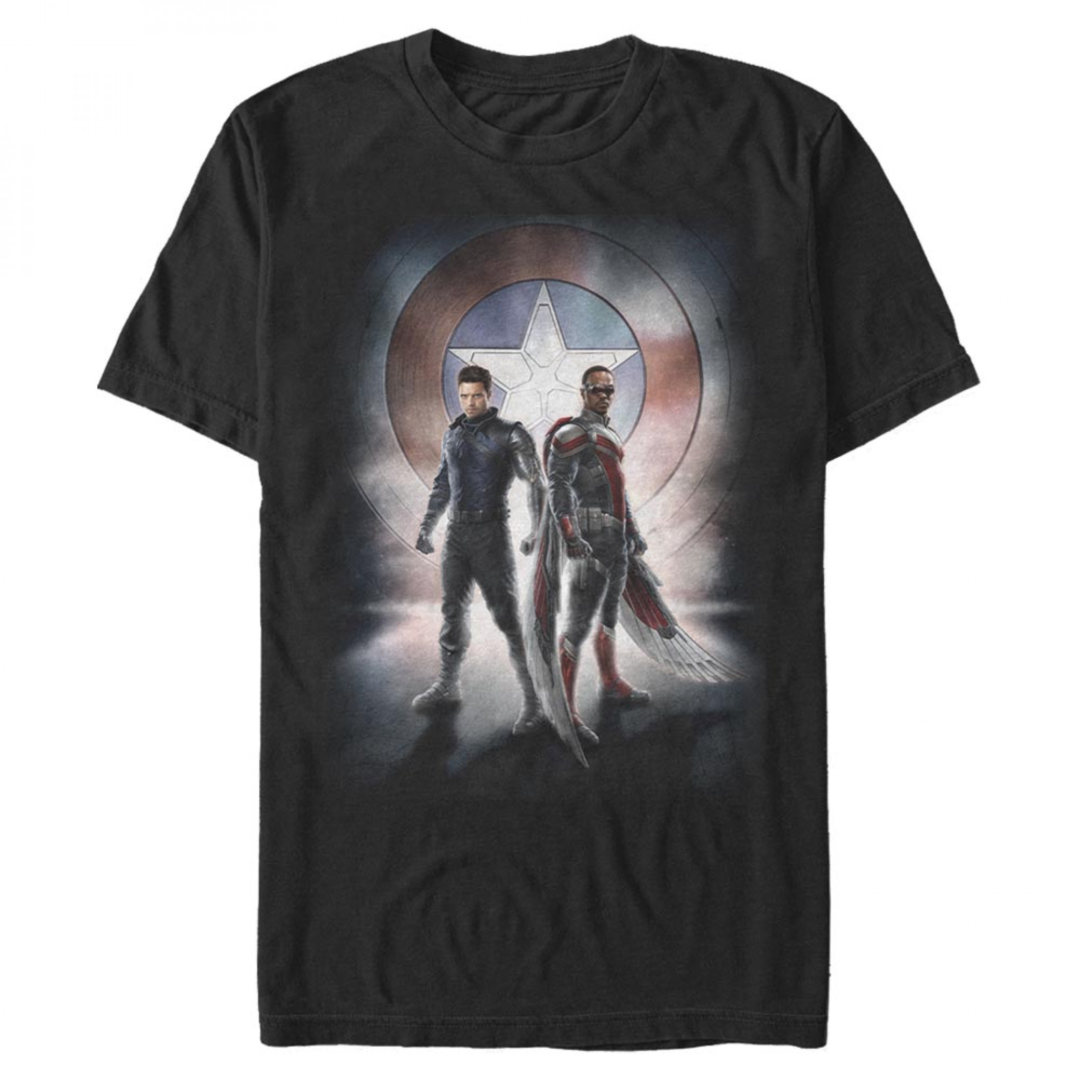The Falcon and The Winter Soldier Team Poster T-Shirt