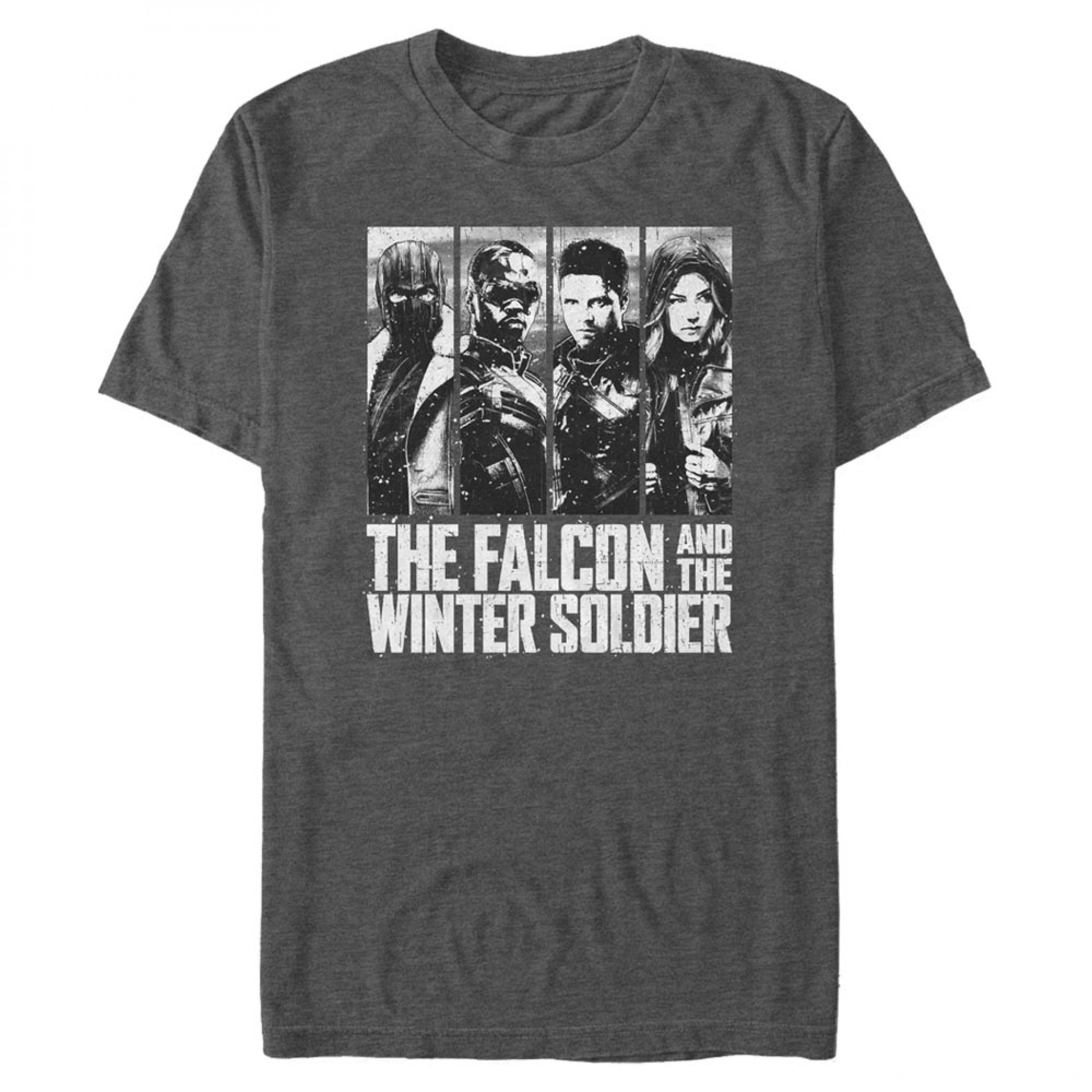 The Falcon and The Winter Solider Characters T-Shirt