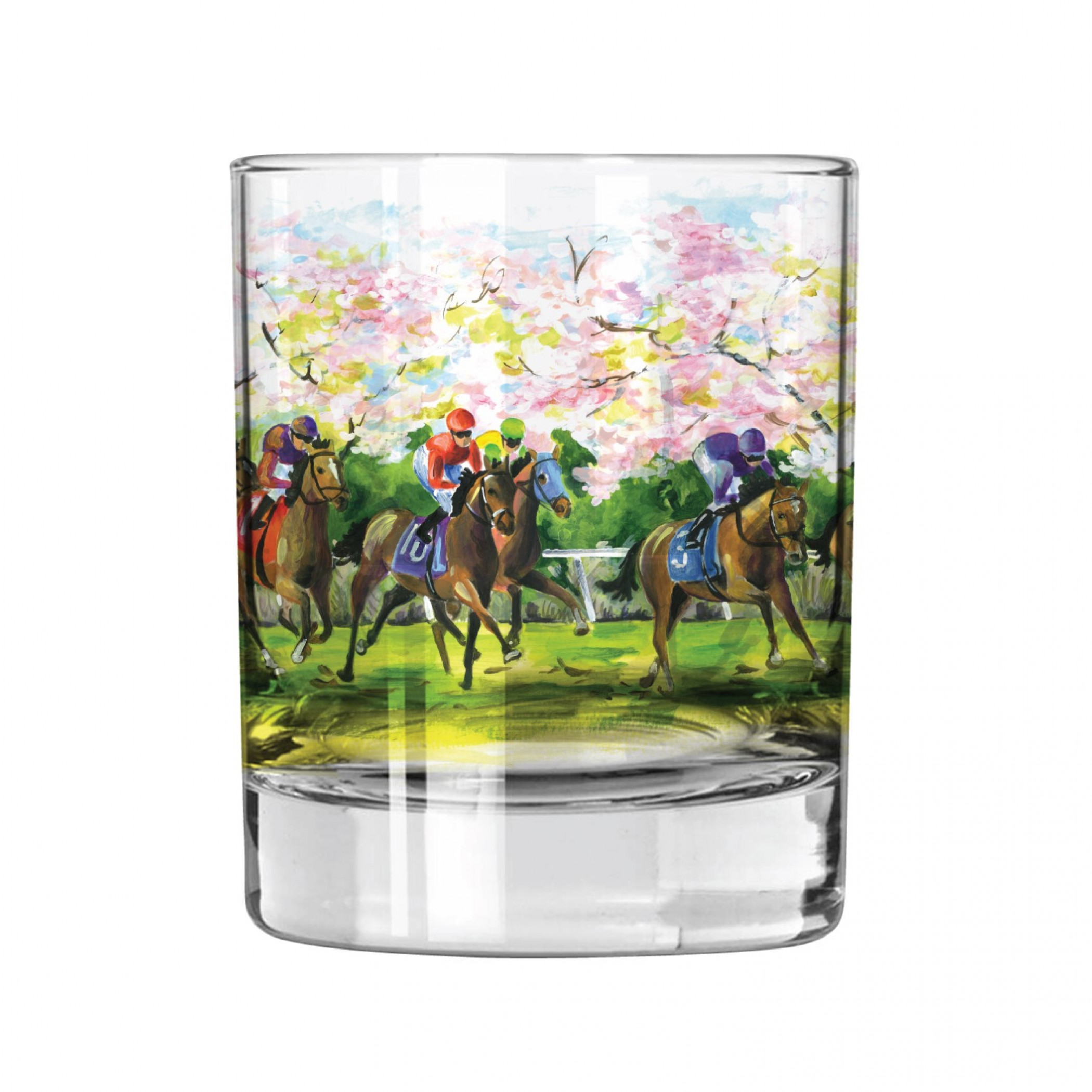 "John Morris ""The Spirit of Racing"" Rocks Glass"