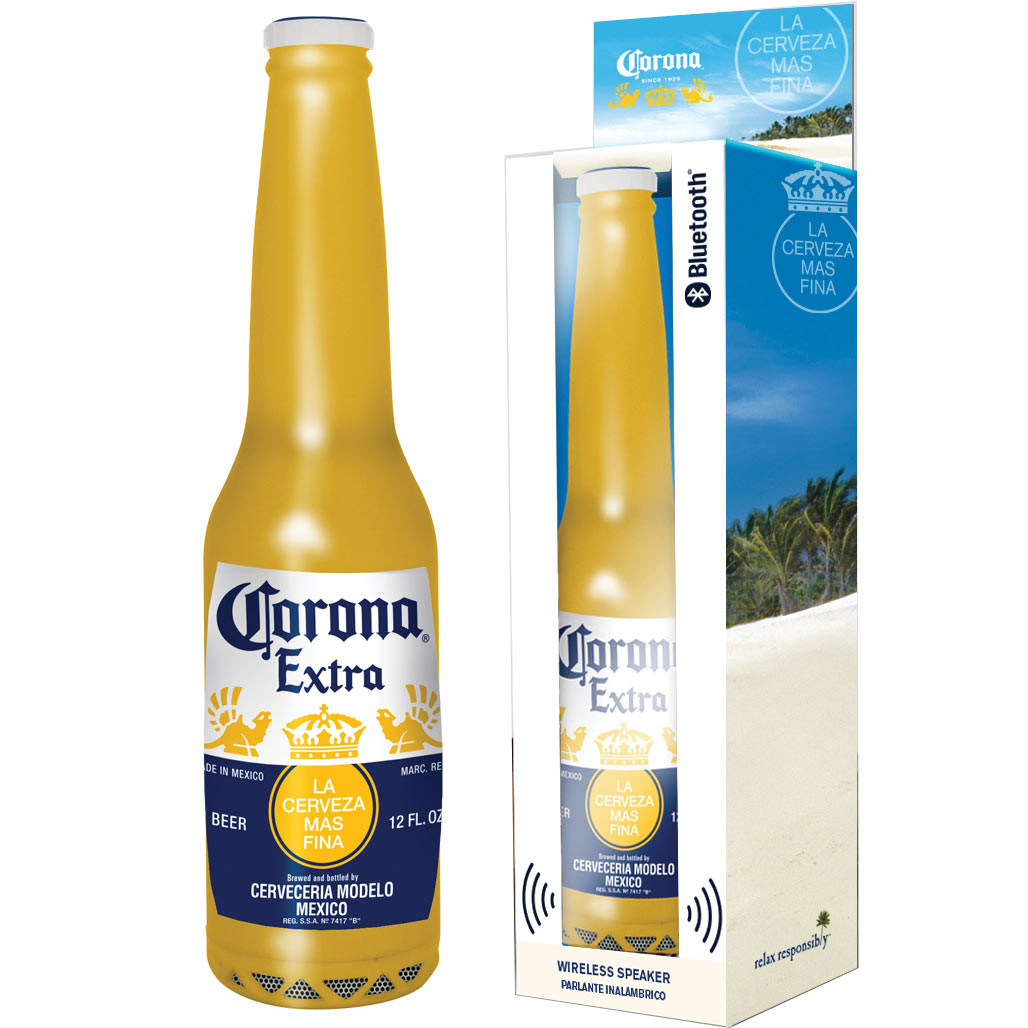 Corona Bluetooth Bottle Speaker
