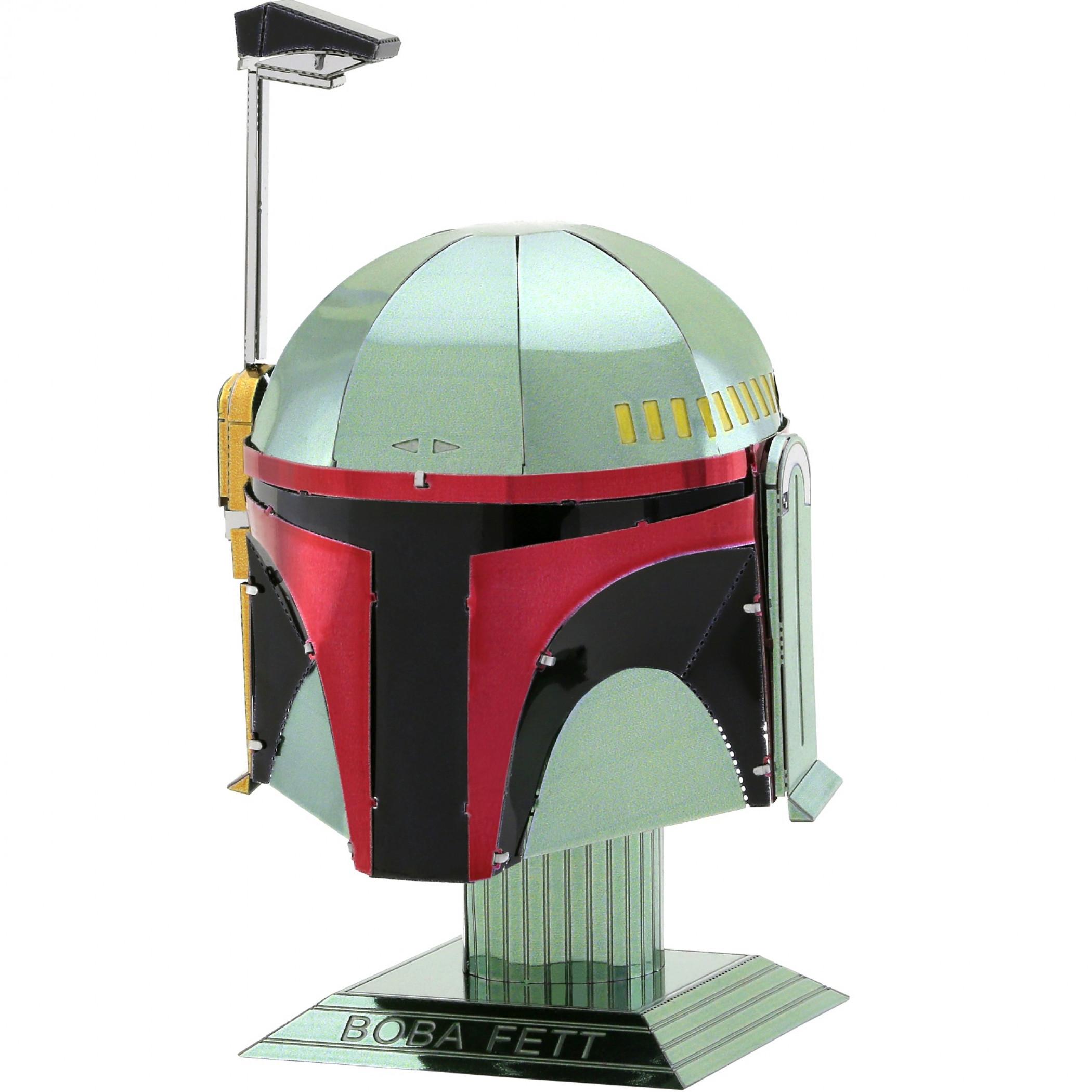 Star Wars Boba Fett Helmet Metal Earth Model Kit