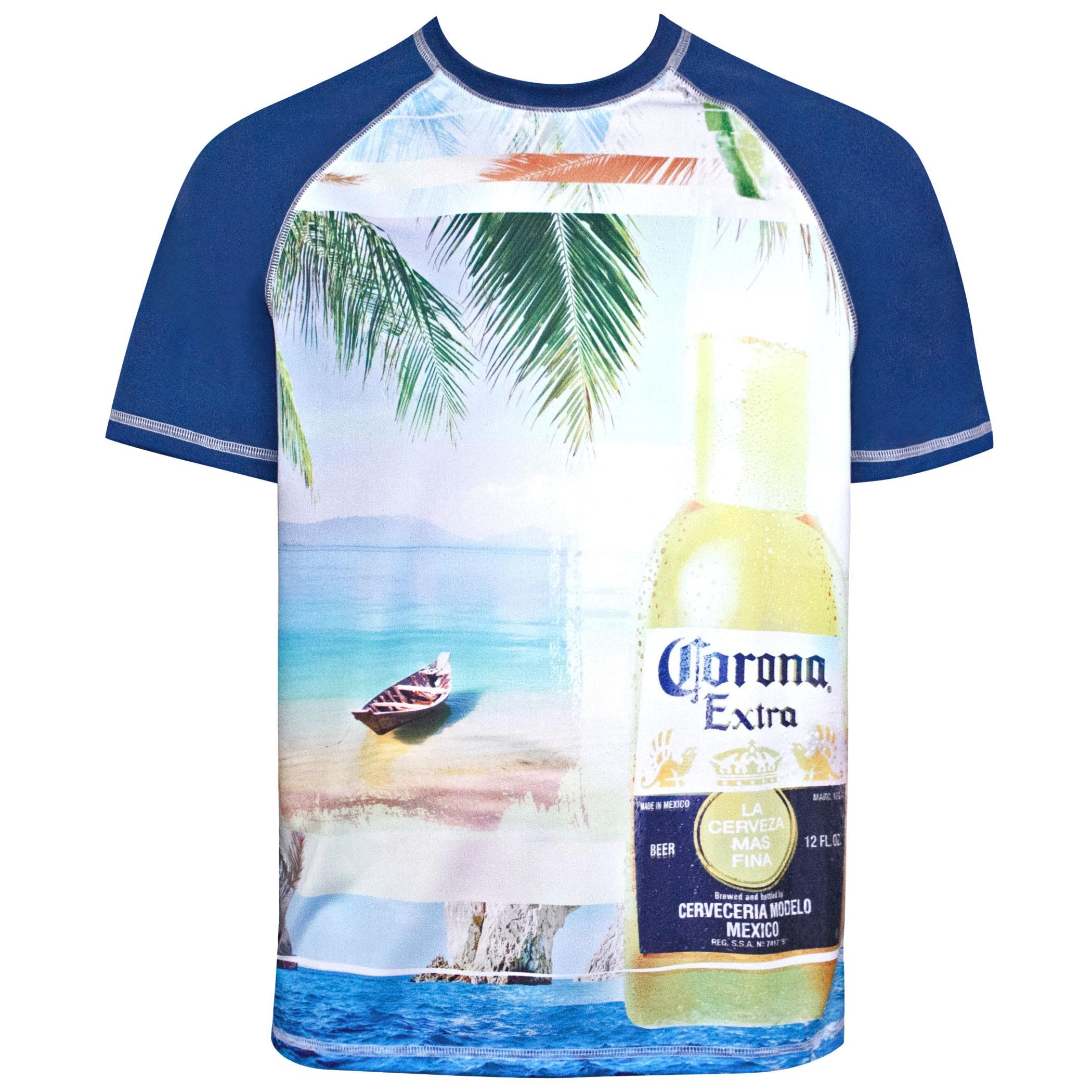 Corona Beach Scene Tee Shirt