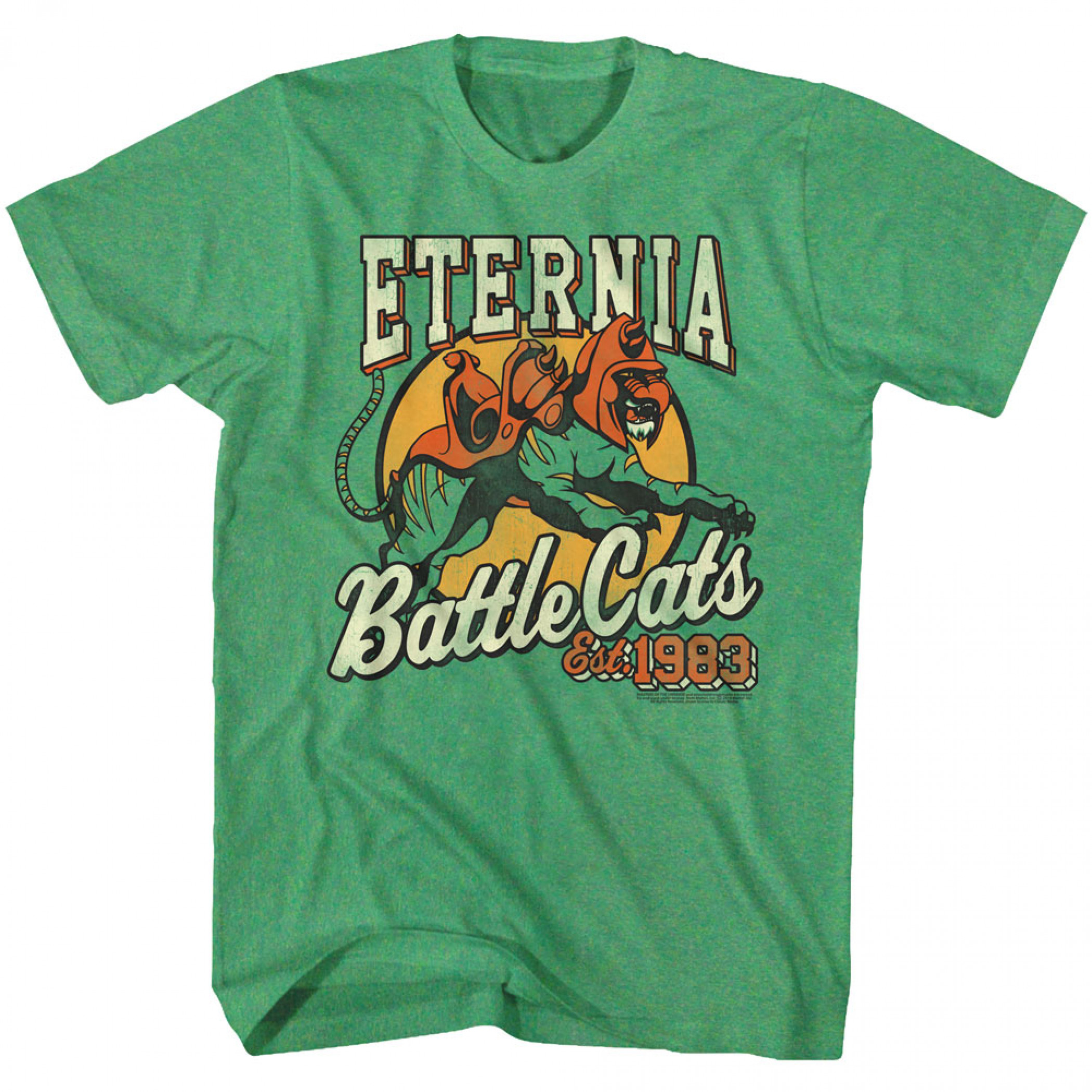Masters Of The Universe Eternia Battle Cats T-Shirt
