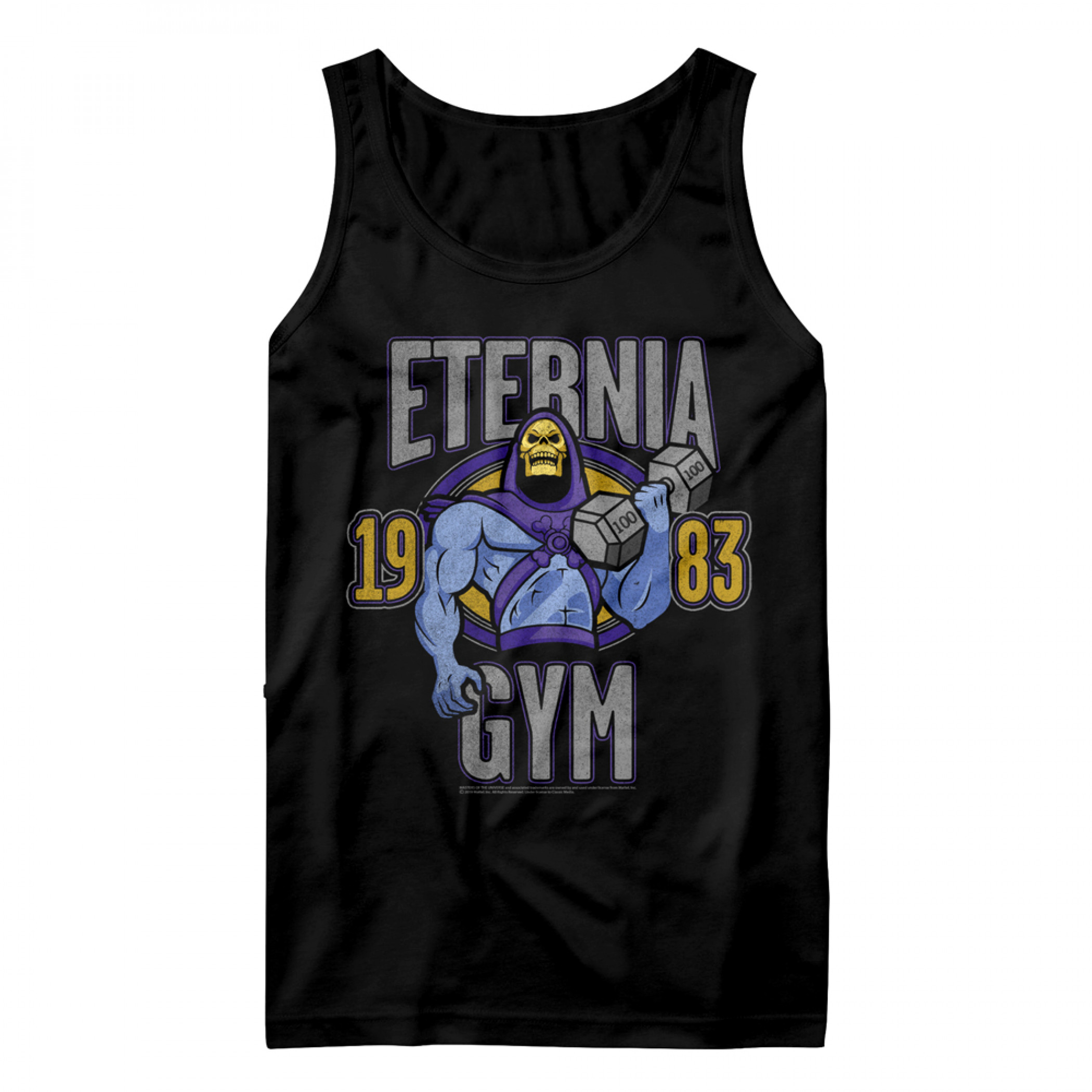 Masters of the Universe Skeletor Eternia Gym Tank Top