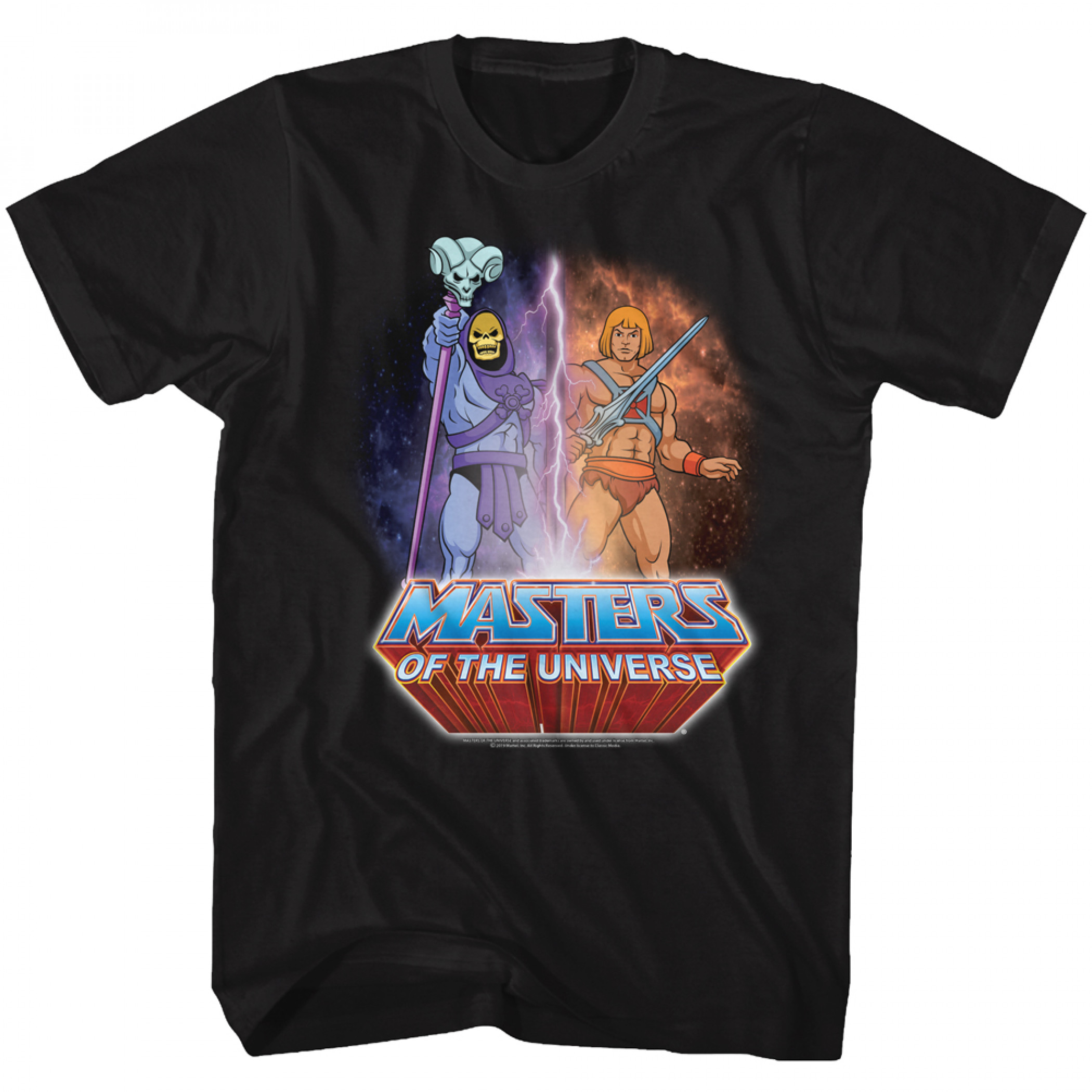 Masters Of The Universe Skeletor And He-Man T-Shirt