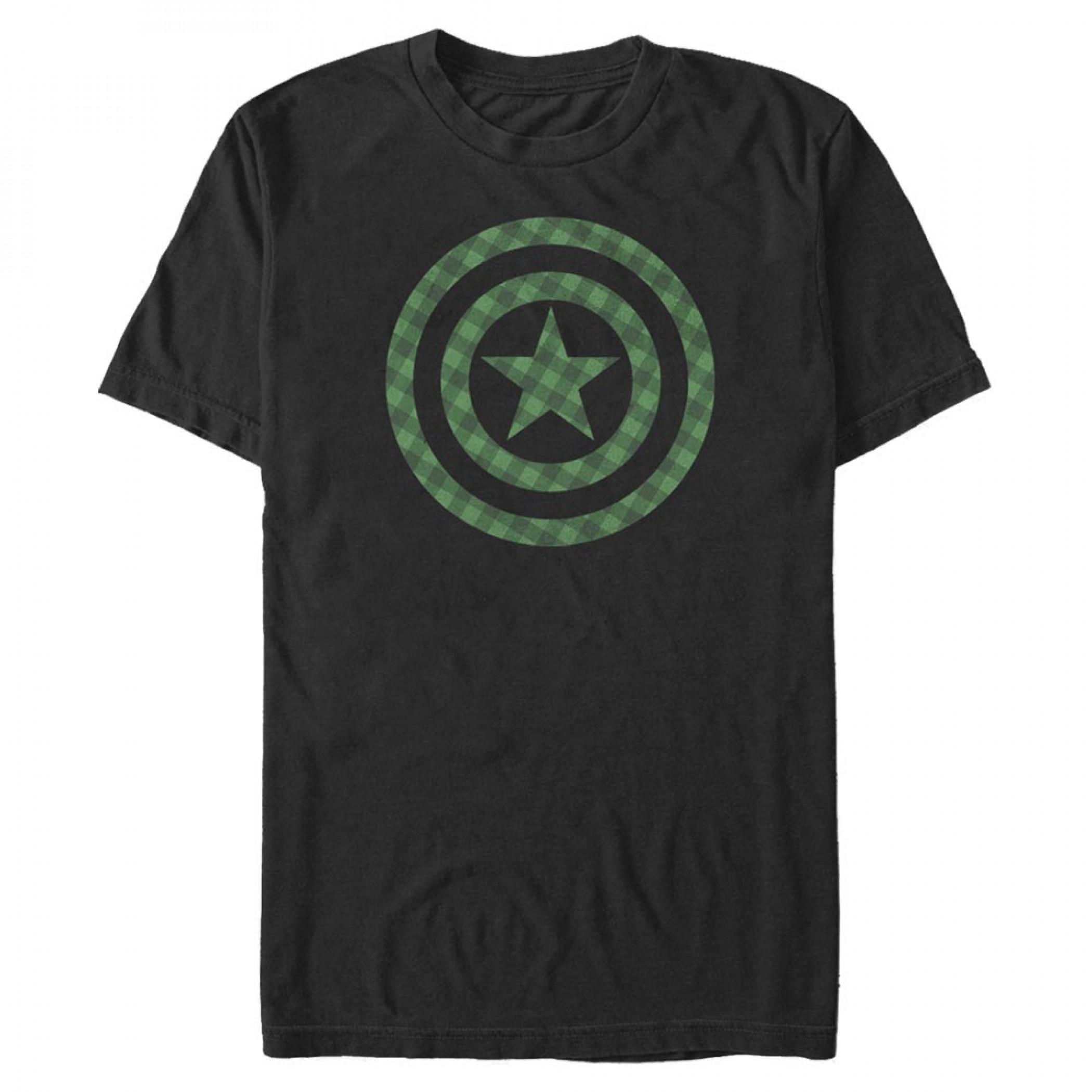 Captain America St. Patrick's Day T-Shirt