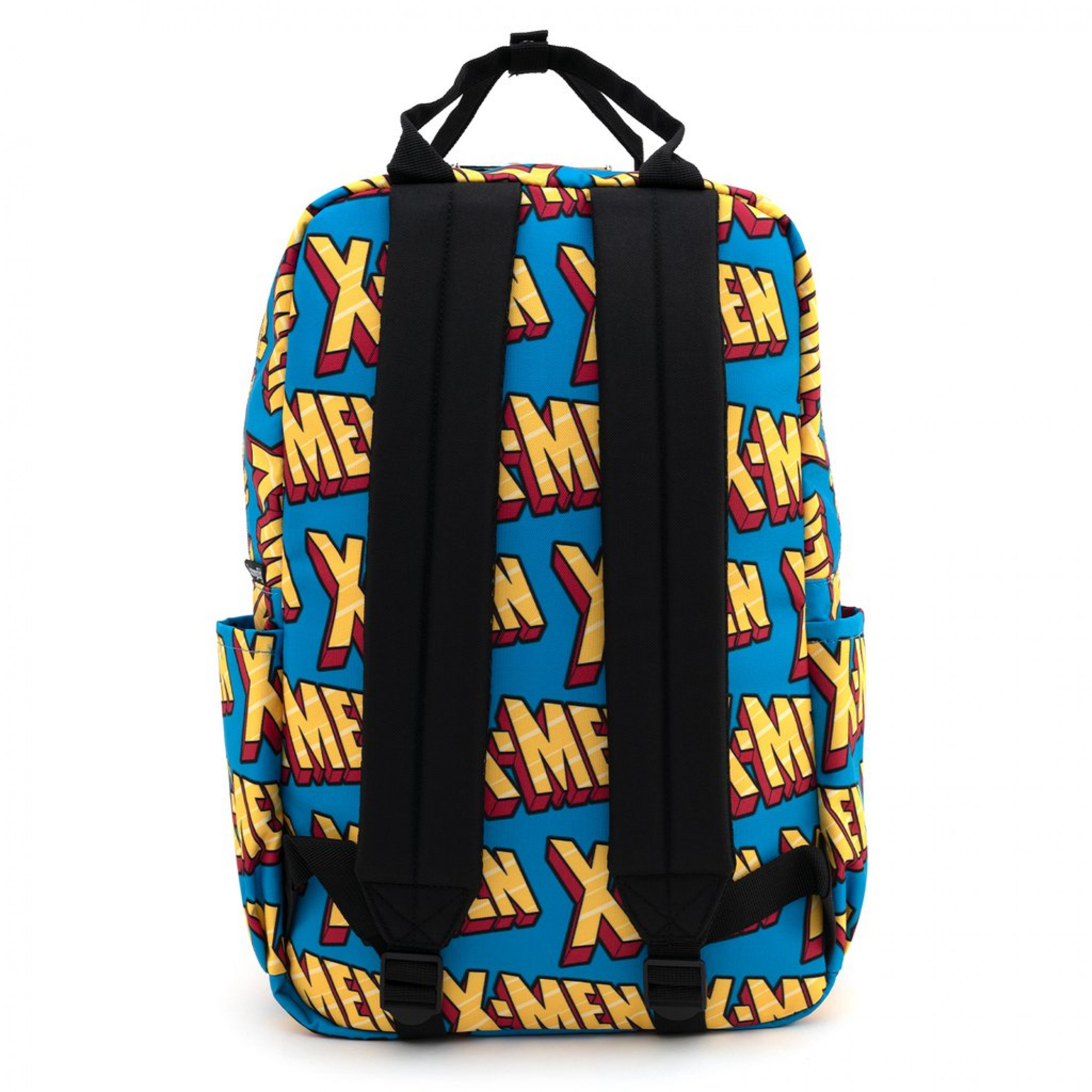 X-Men Logo All Over Print Nylon Backpack by Loungefly