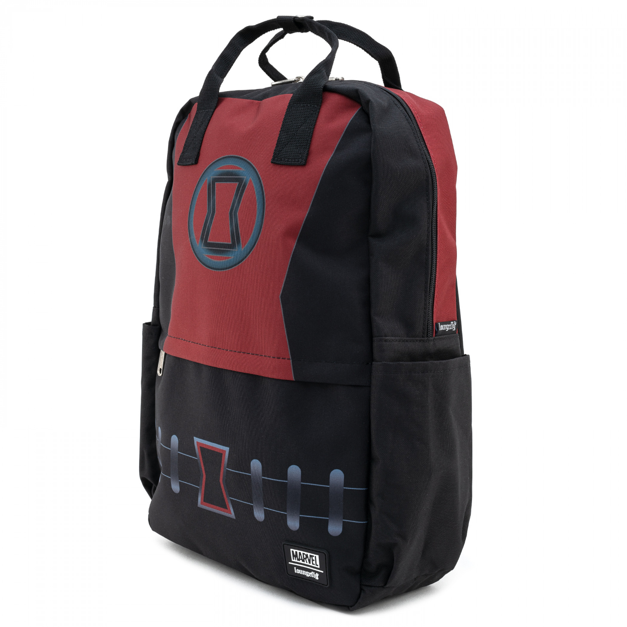 Black Widow Cosplay Nylon Backpack by Loungefly