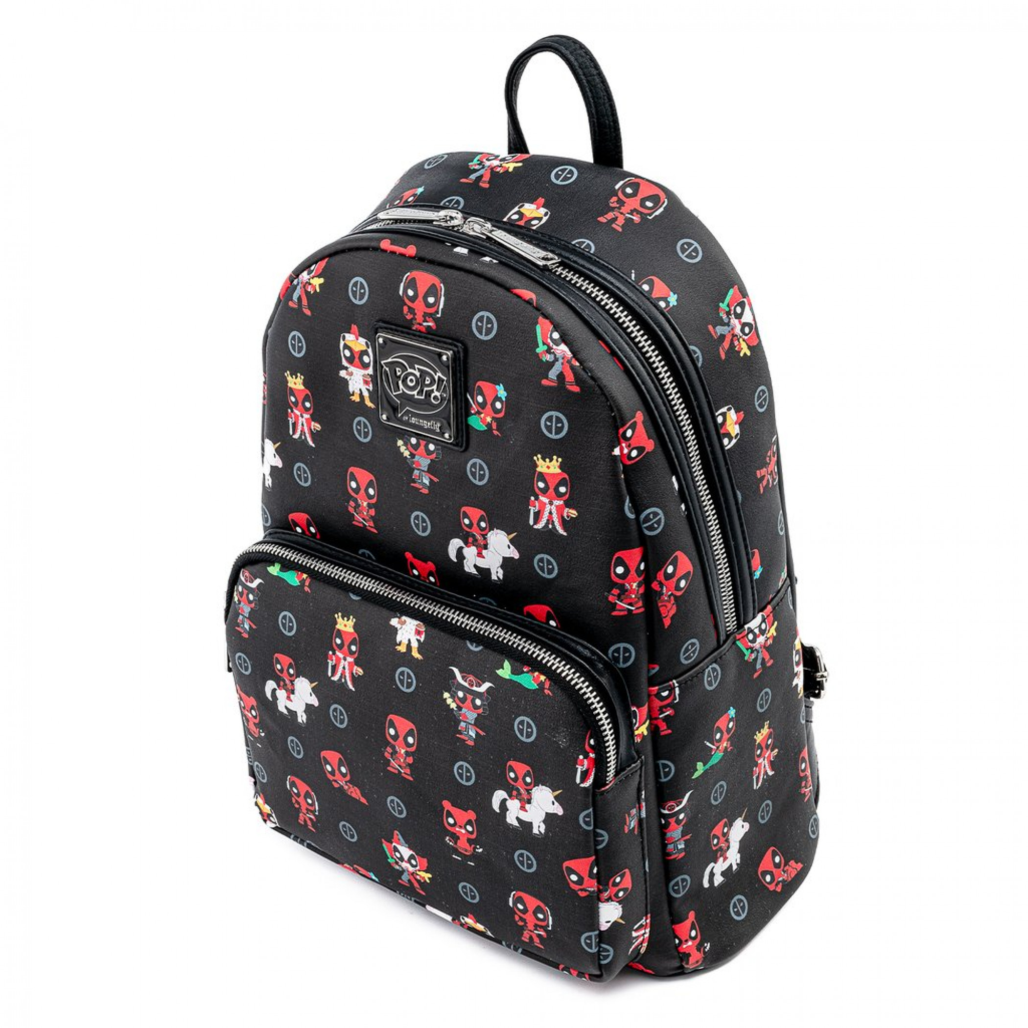Marvel Deadpool All Over Print Mini Backpack by Loungefly