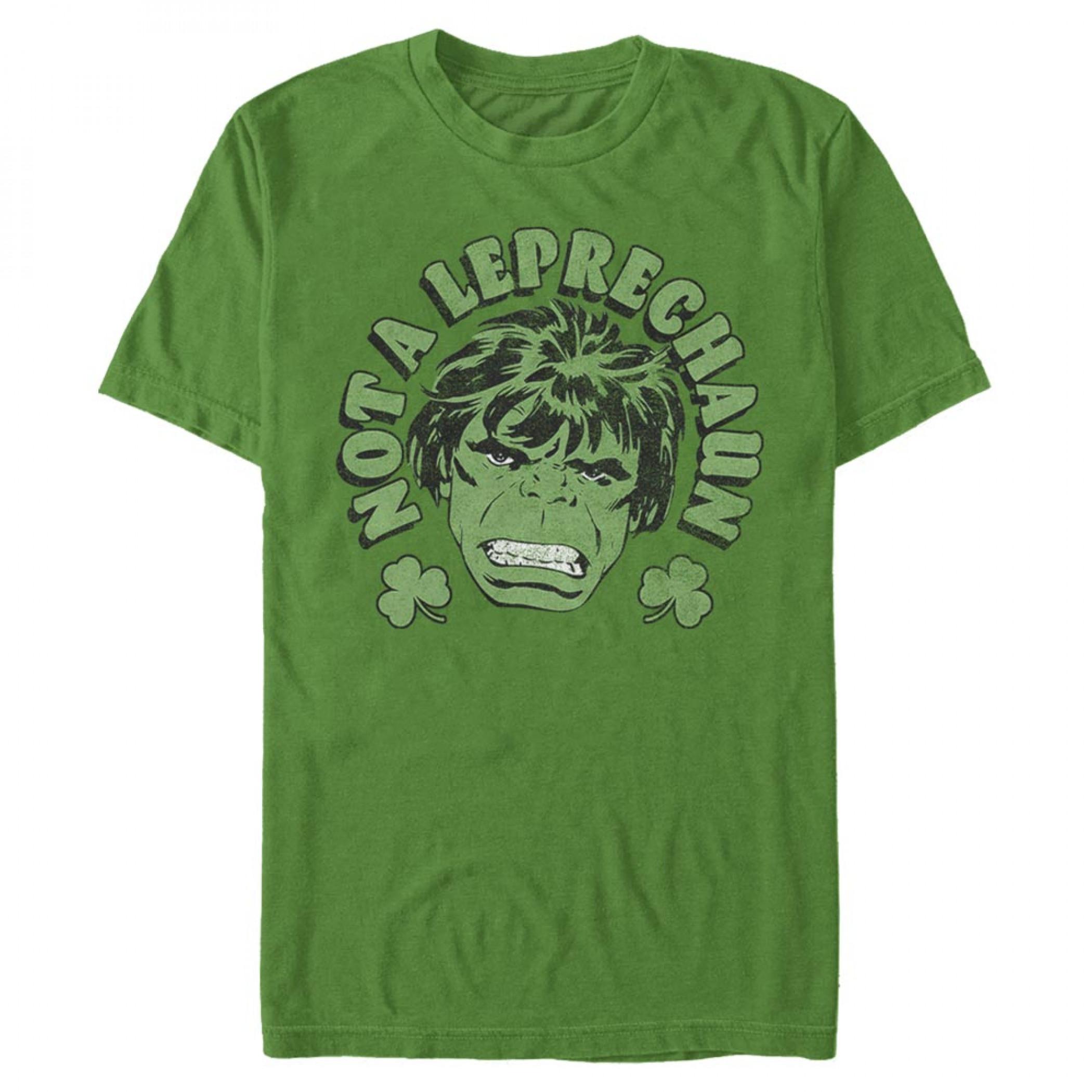 The Incredible Hulk Not A Leprechaun St. Patrick's Day T-Shirt