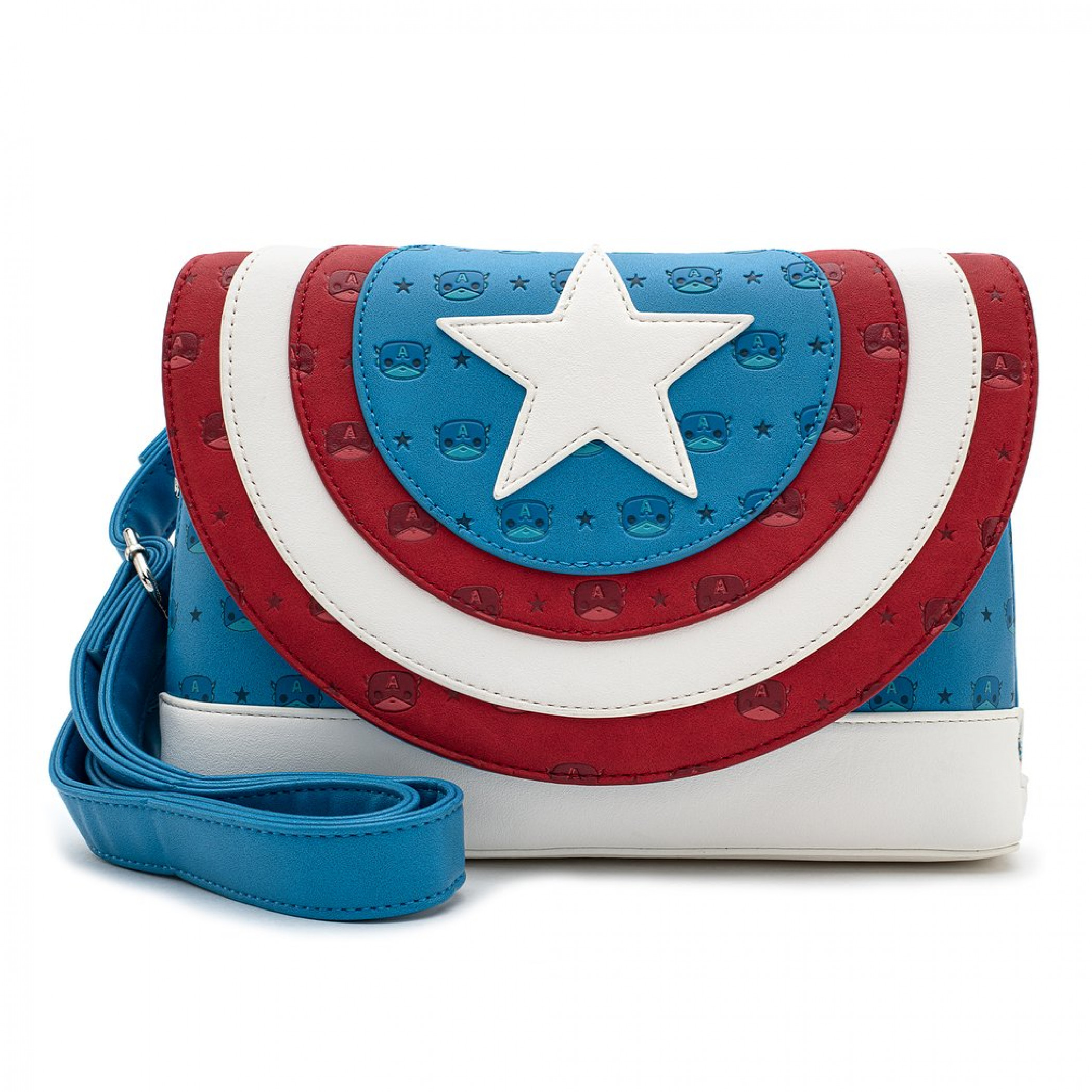 Marvel Captain America Crossbody Bag by Loungefly