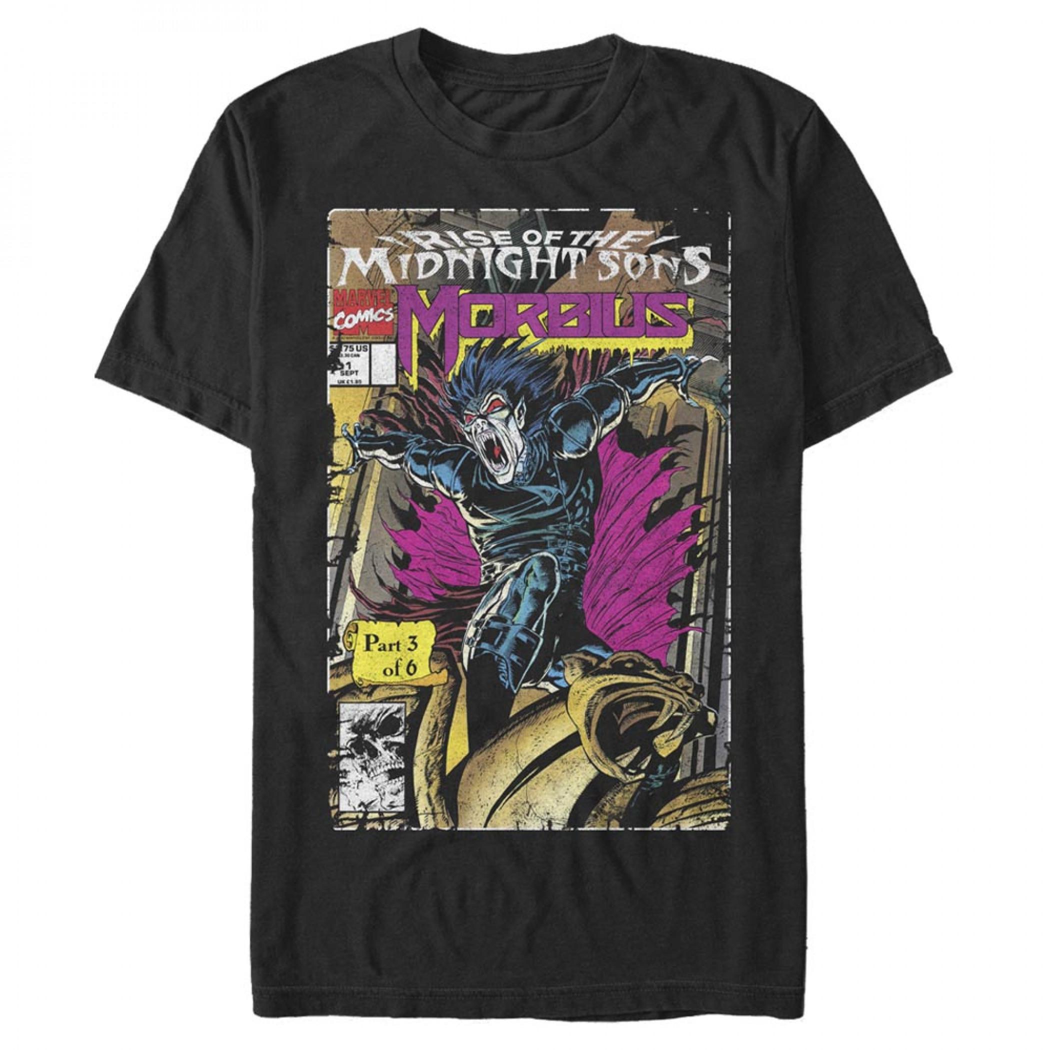 Morbius Comic Cover T-Shirt