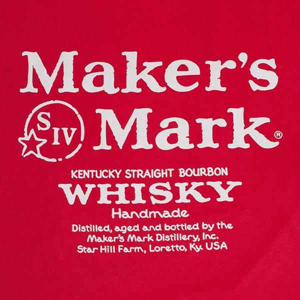 Maker's Mark Red Whiskey Logo T-Shirt