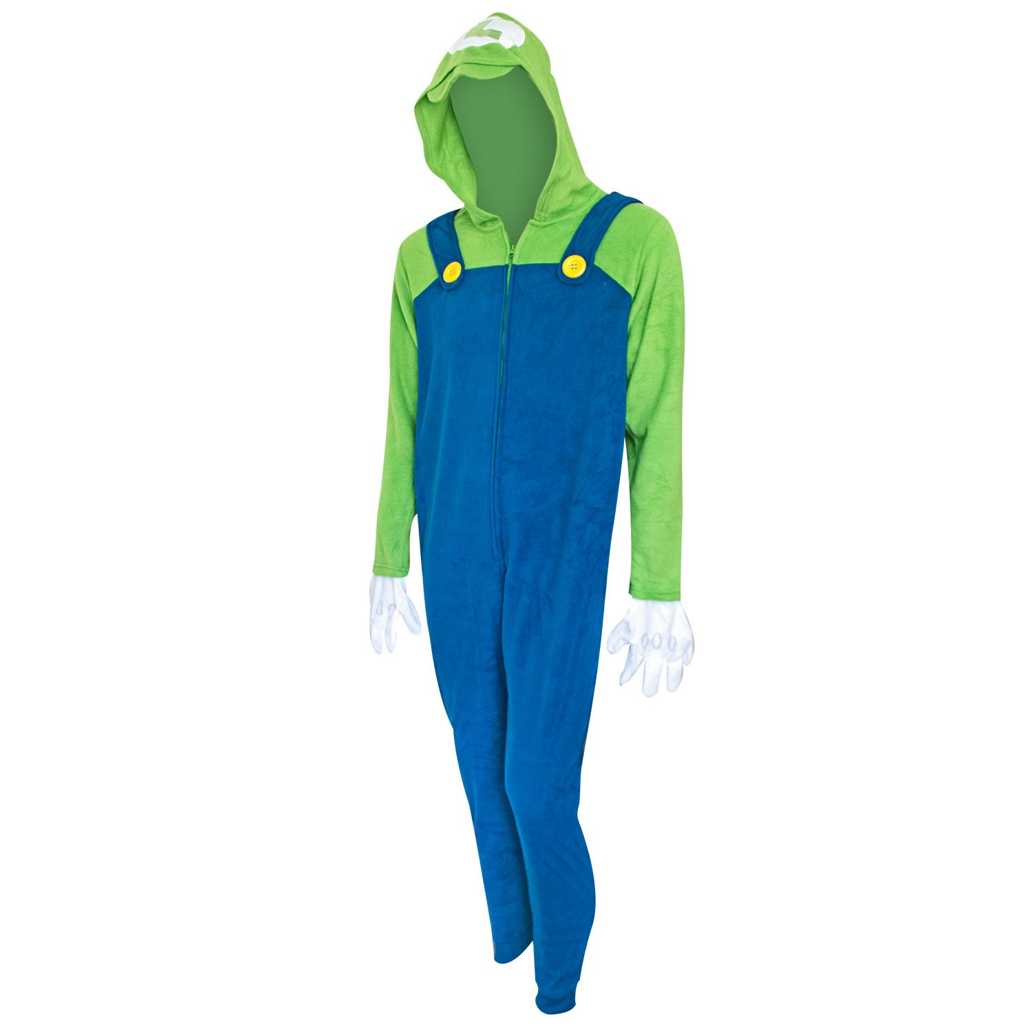 Super Mario Bros. Luigi Men's Union Suit