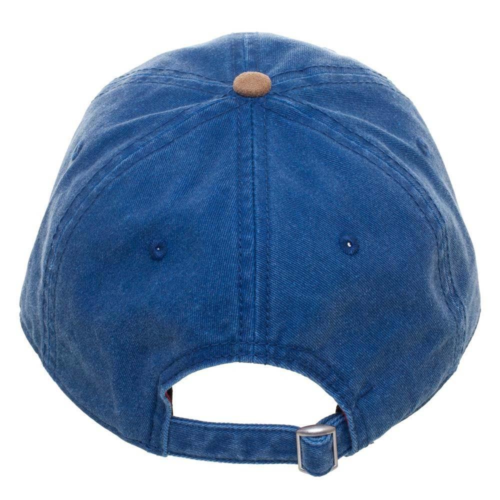 Mario Blue Suede Bill Hat