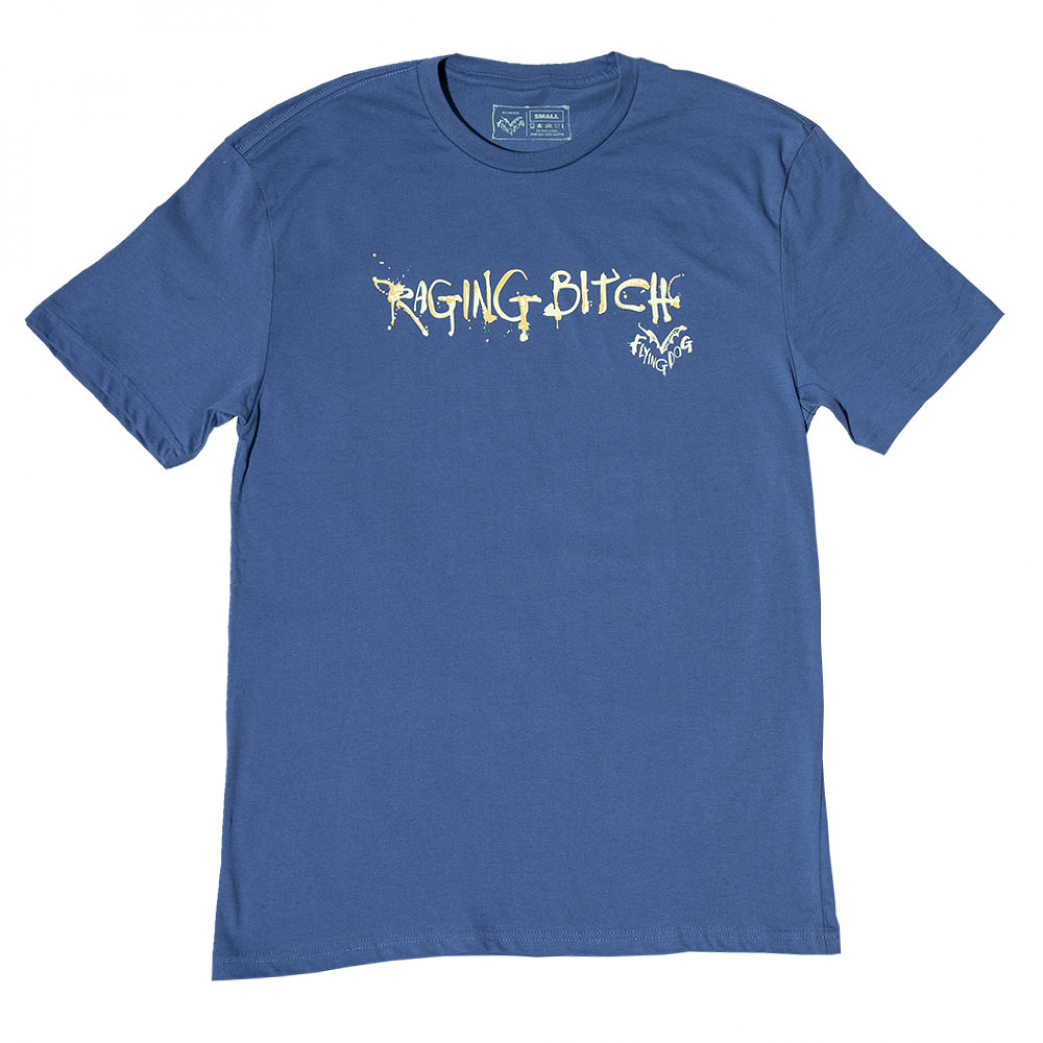 Flying Dog Raging Bitch Blue T-Shirt
