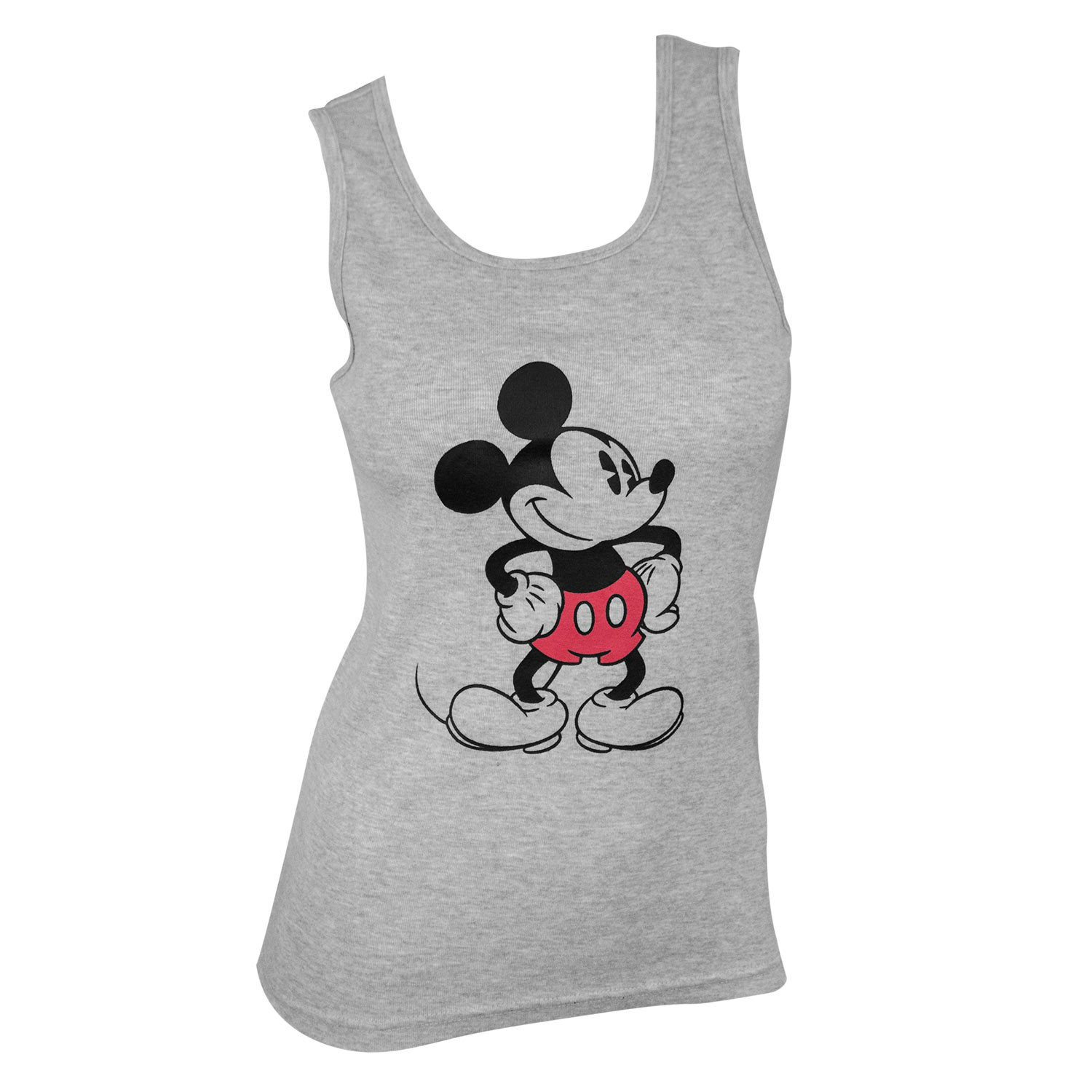 Mickey Mouse Women's Grey Tank Top