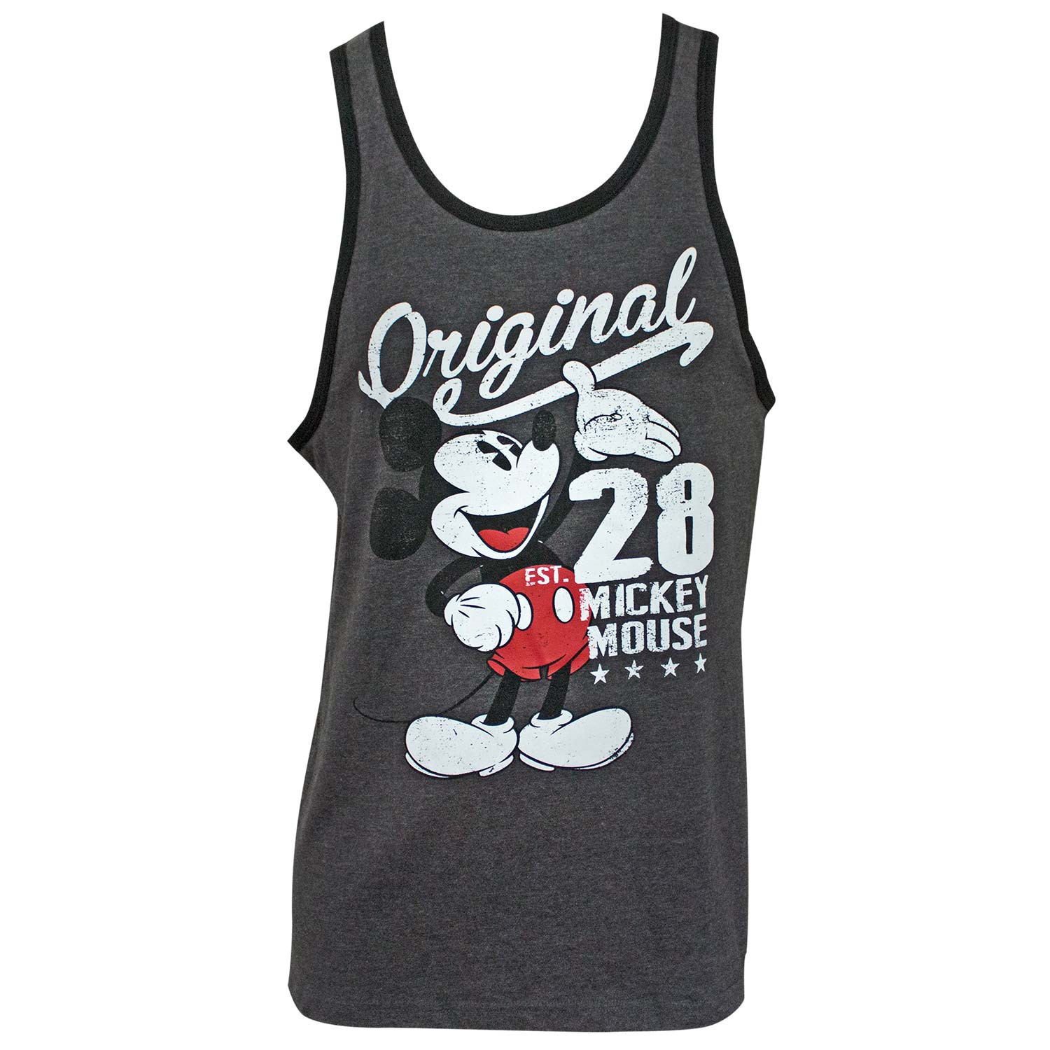 Mickey Mouse Original Men's Grey Tank Top