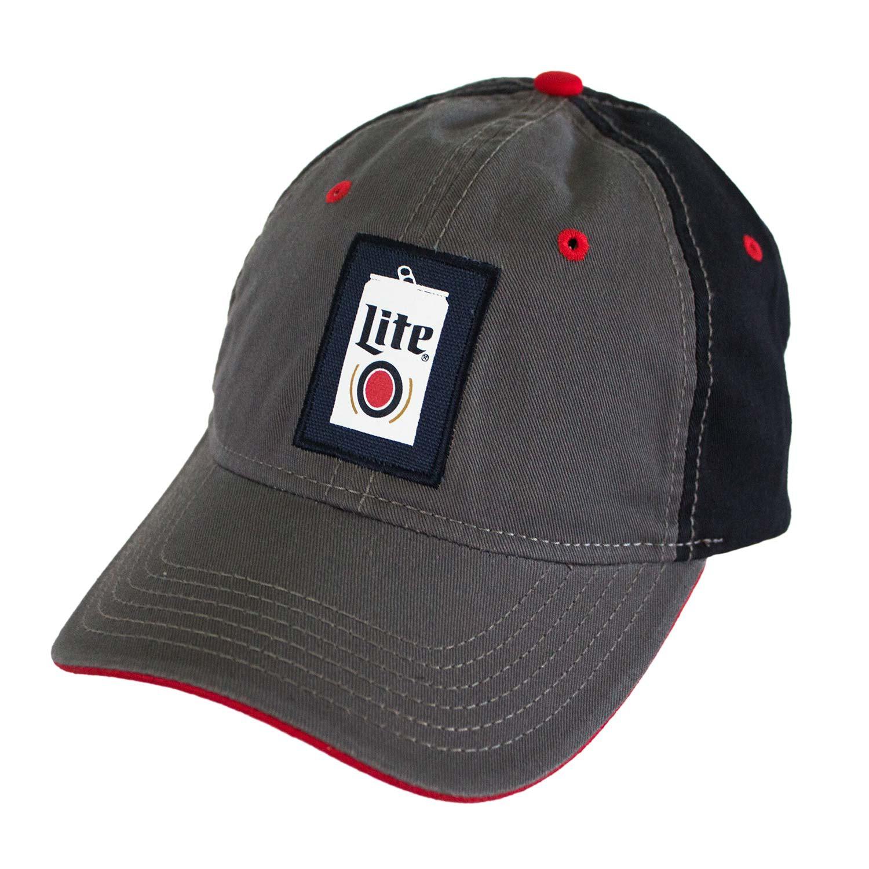 Miller Lite Beer Can Logo Hat