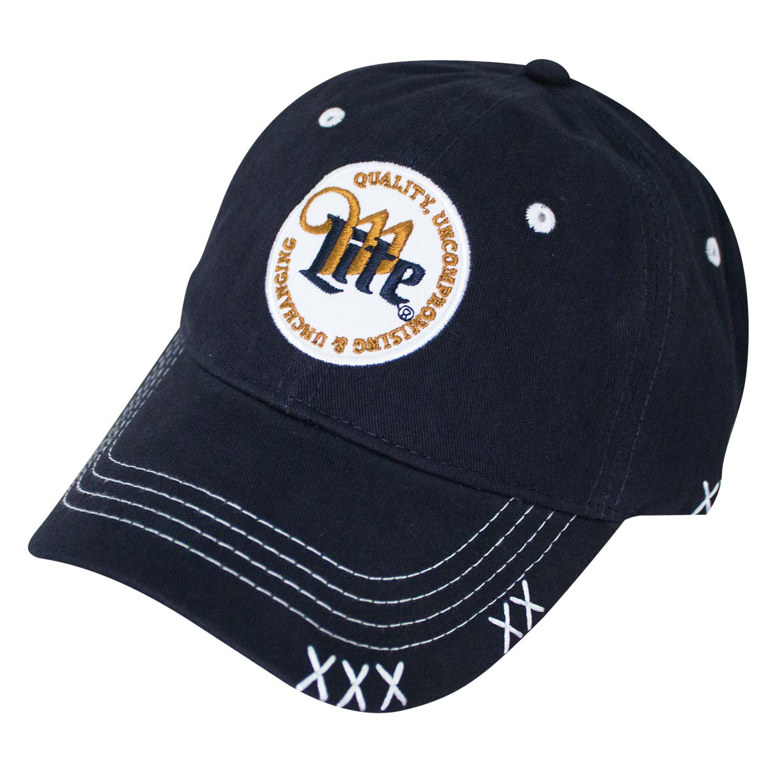 Miller Lite Circle Logo Navy Blue Men's Hat