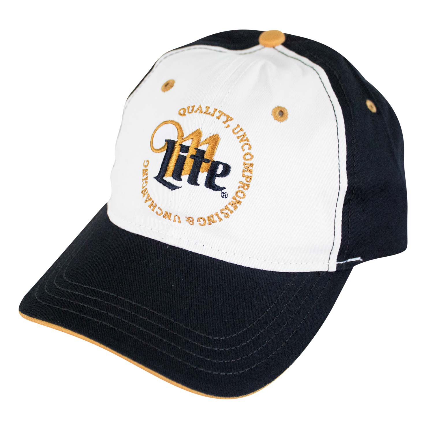 Miller Lite Quality Uncompromising & Unchanging Logo Hat