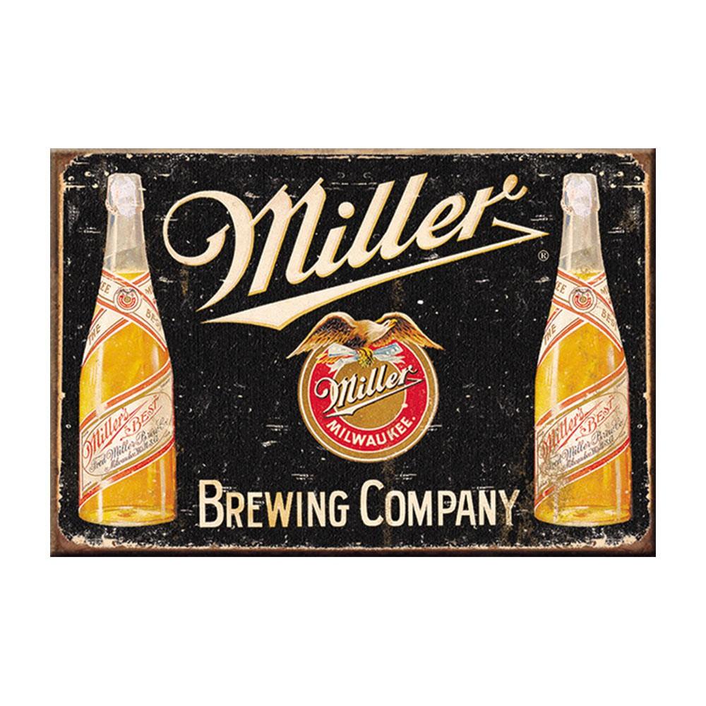 Miller Brewing Company Vintage Logo Magnet
