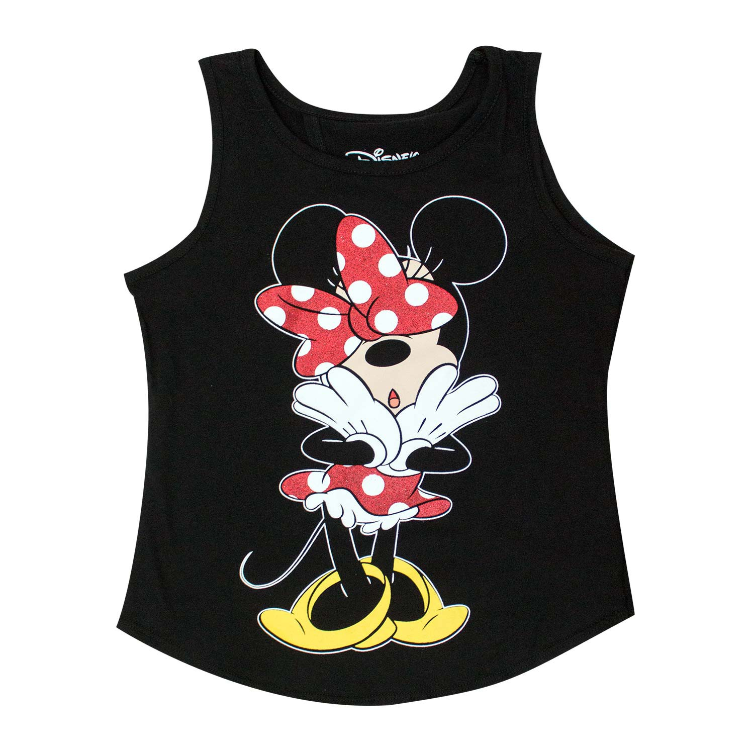 Minnie Mouse Open Back Youth Girls Tank Top