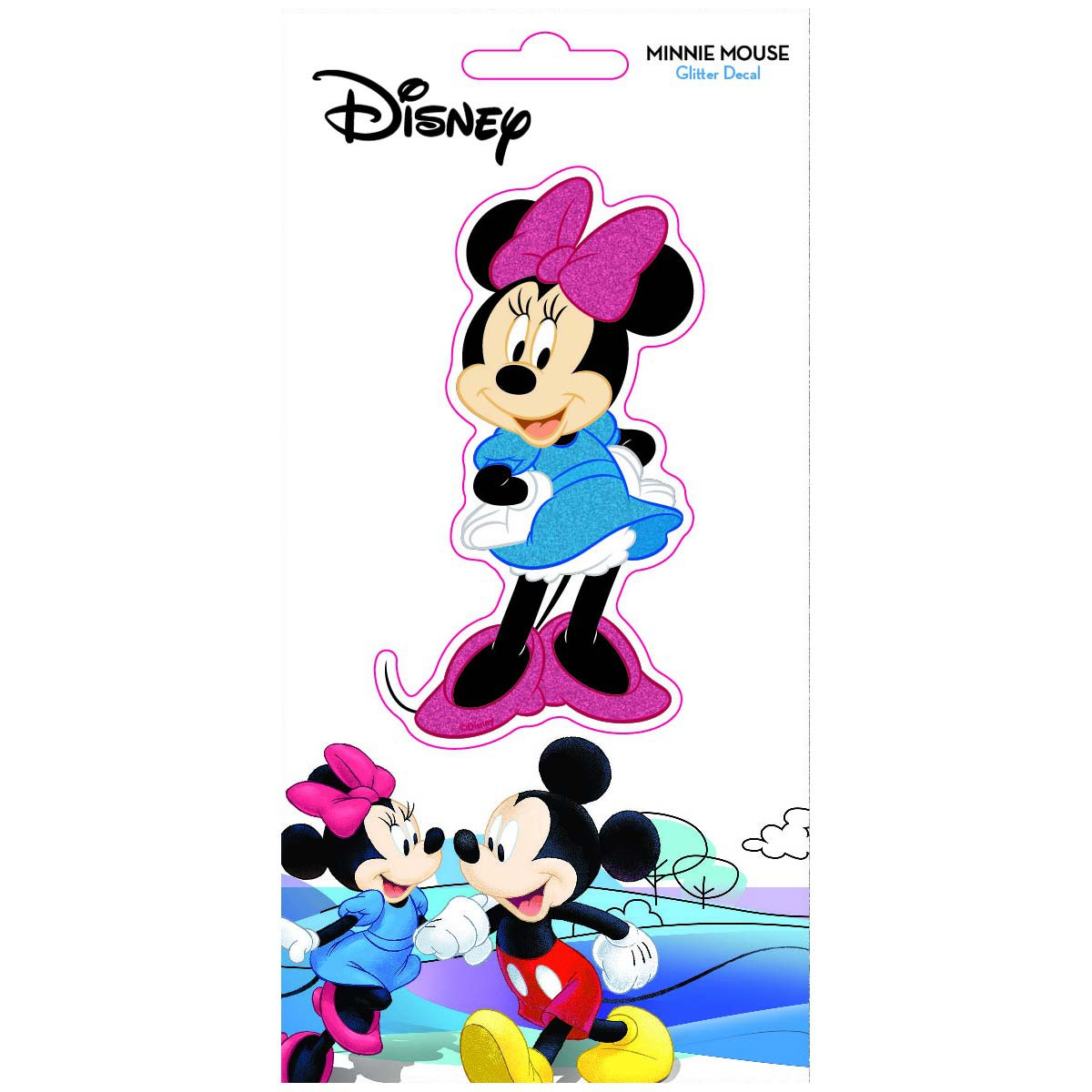Disney Minnie Mouse Glitter Decal