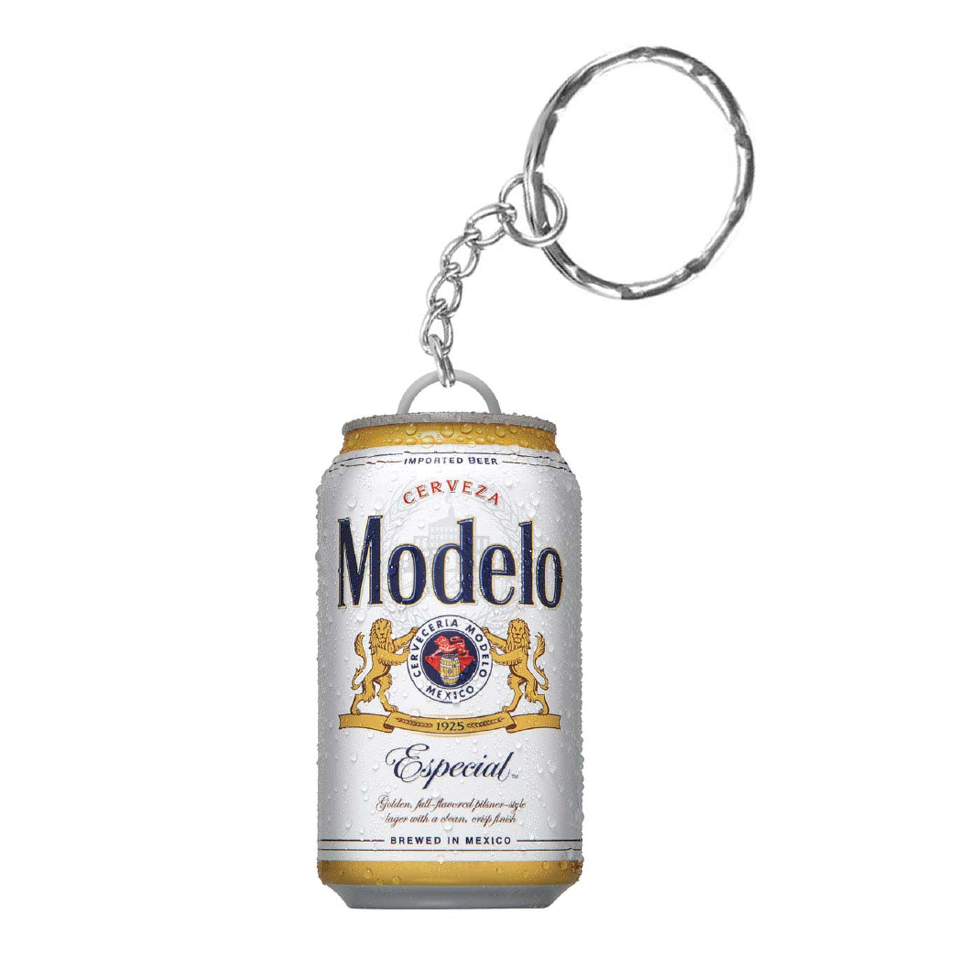 Modelo Especial Beer Can Keychain