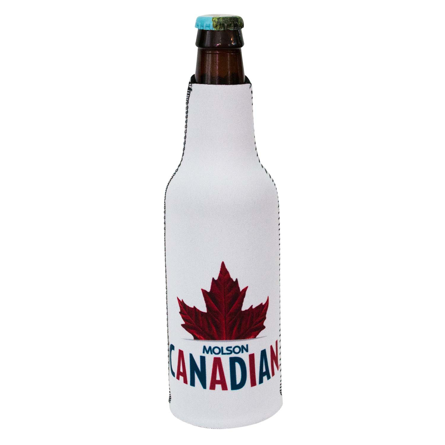Molson Canadian Leaf Logo Bottle Suit Cooler