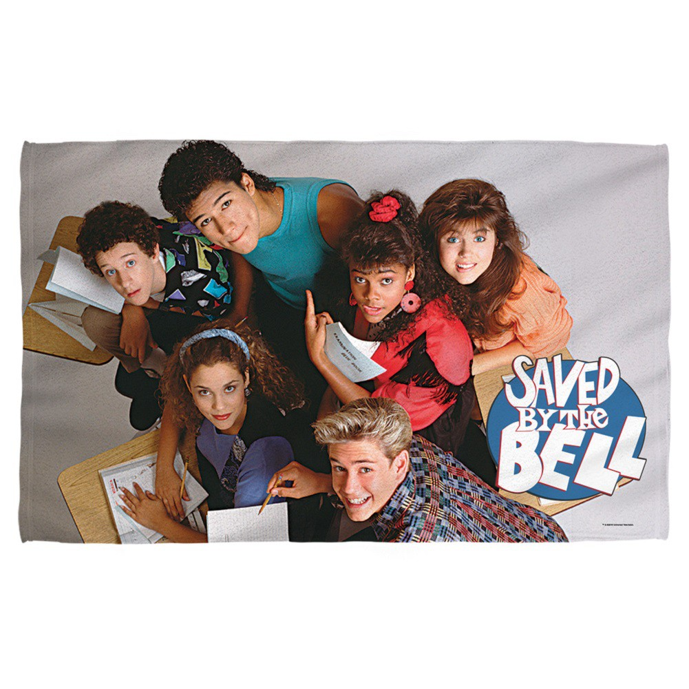 Saved By The Bell Cast Beach Towel