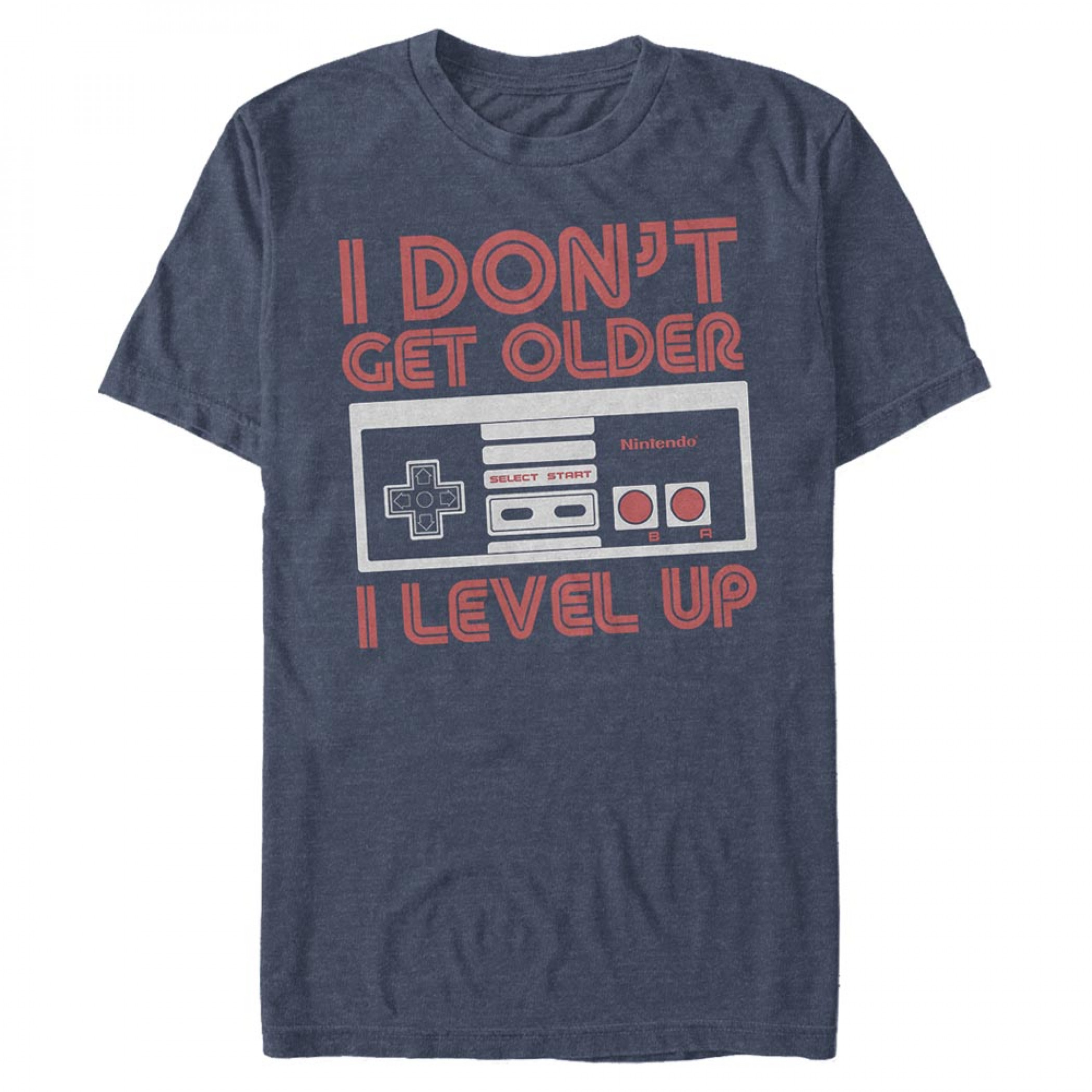 Nintendo Controller I Don't Get Older- I Level Up T-Shirt
