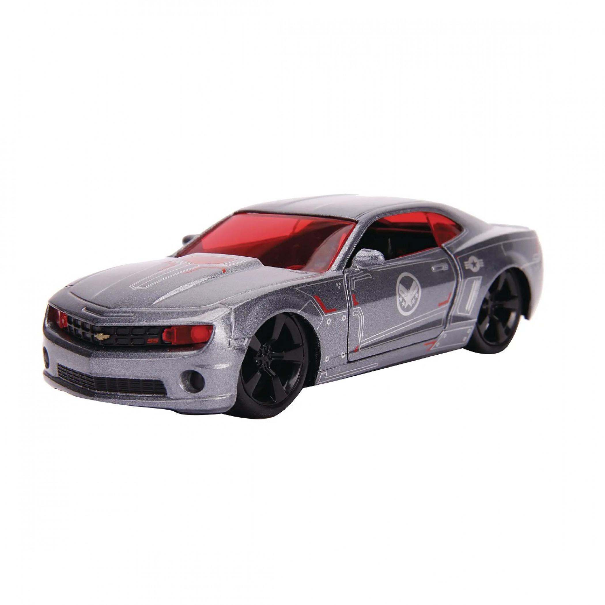 """War Machine 2010 Chevy Camaro Diecast Metal 5"""" Movie Car by Jada Toys"""