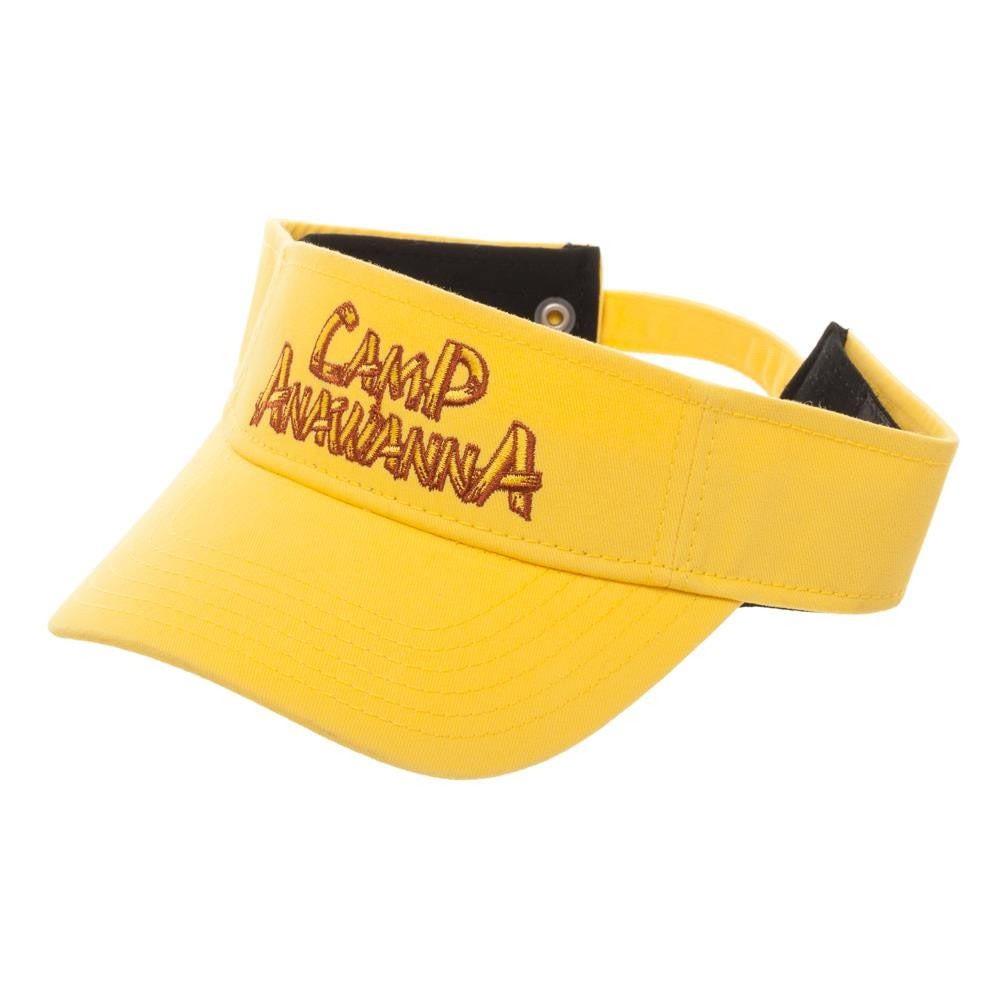 Nickelodeon Yellow Salute Your Shorts Camp Anawana Visor
