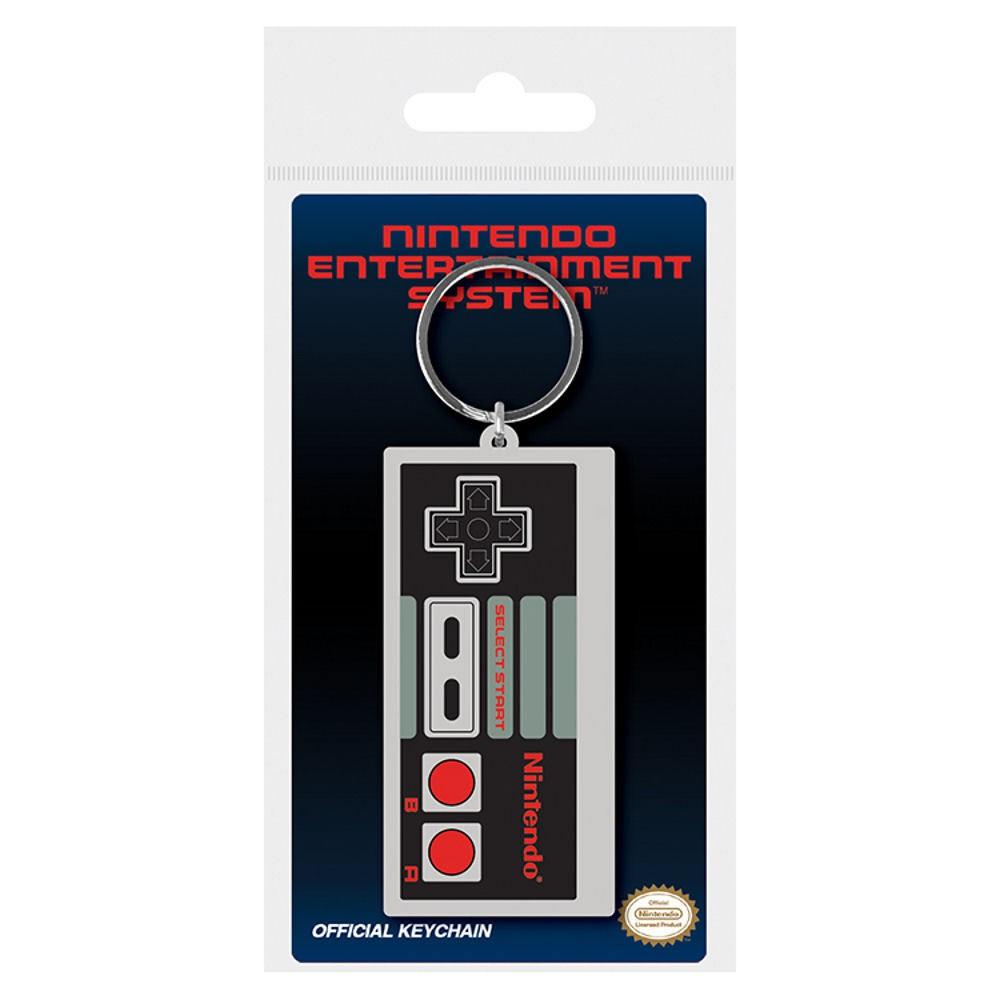 Nintendo Classic NES Controller Rubber Keychain