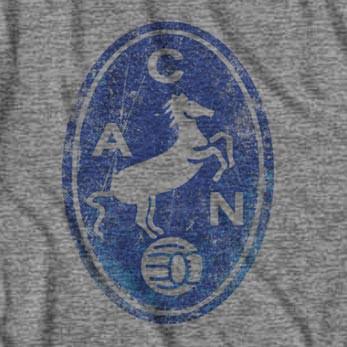 S.S.C. Napoli Retro Horse Logo Soccer T-Shirt