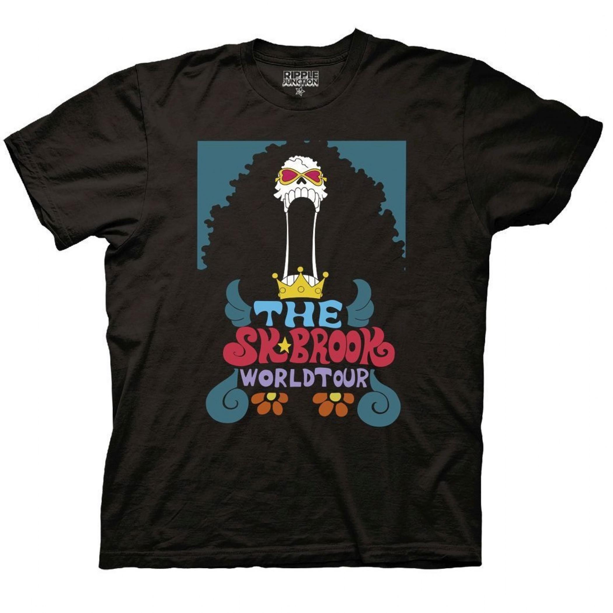 One Piece Soul King Brook World Tour Crew T-Shirt