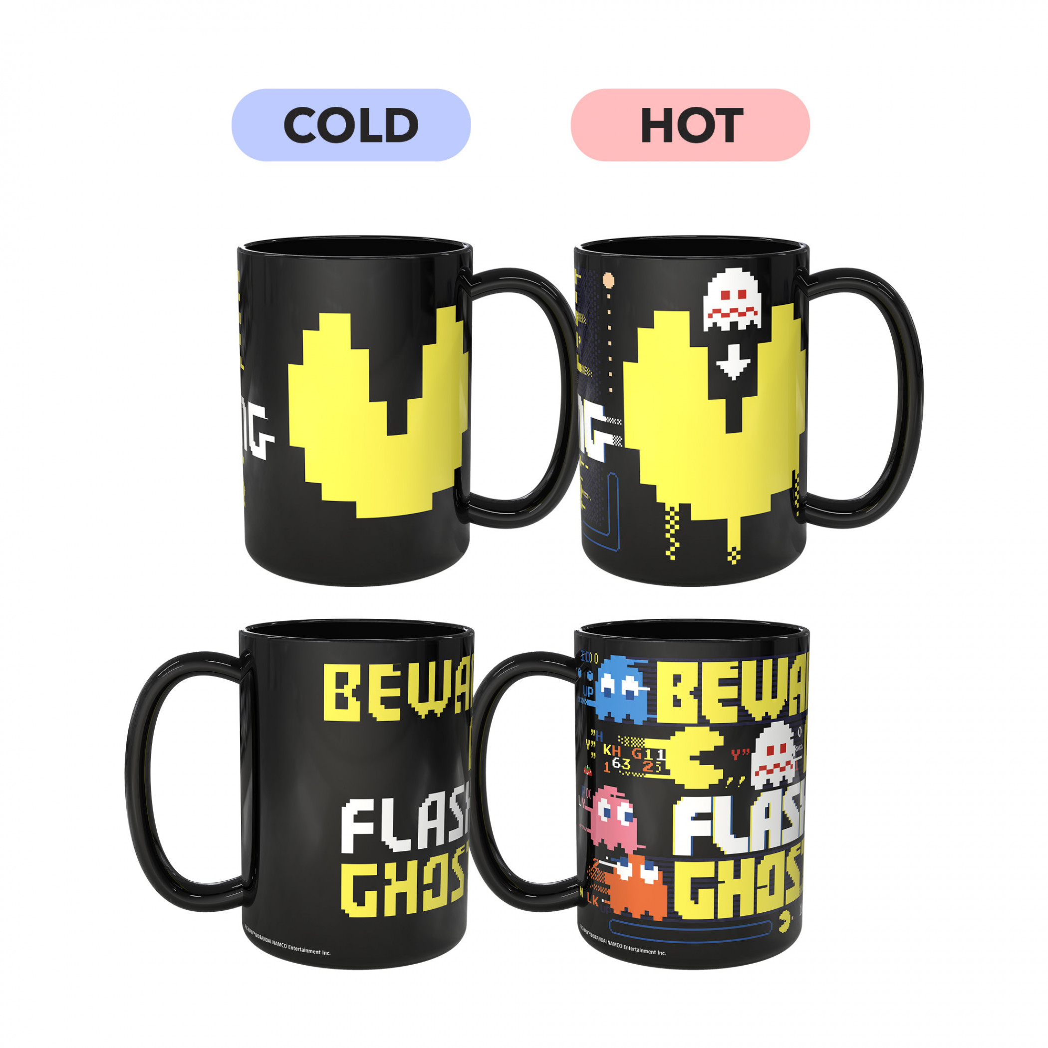 Pac-Man Color Changing Mug