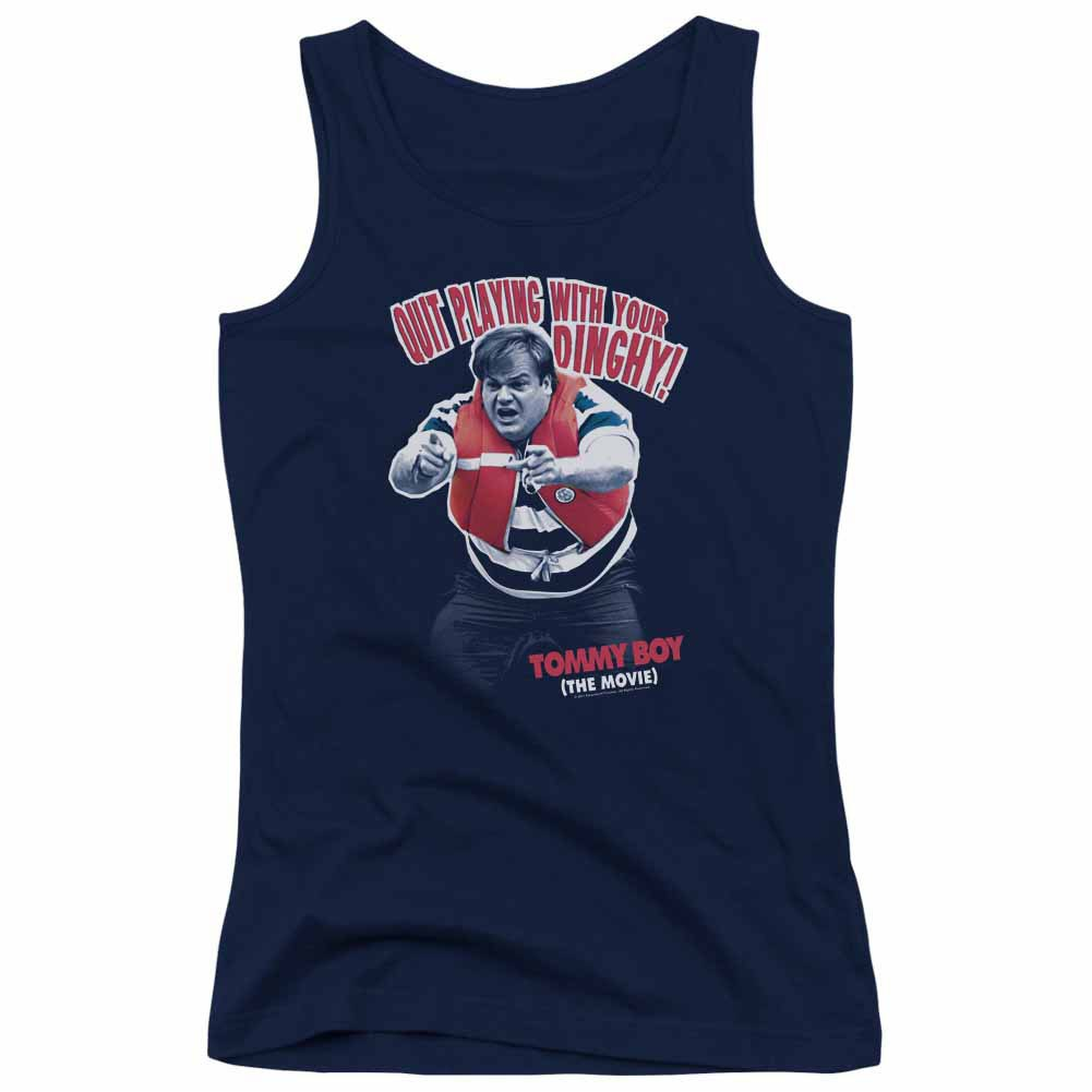Tommy Boy Dinghy Blue Juniors Tank Top