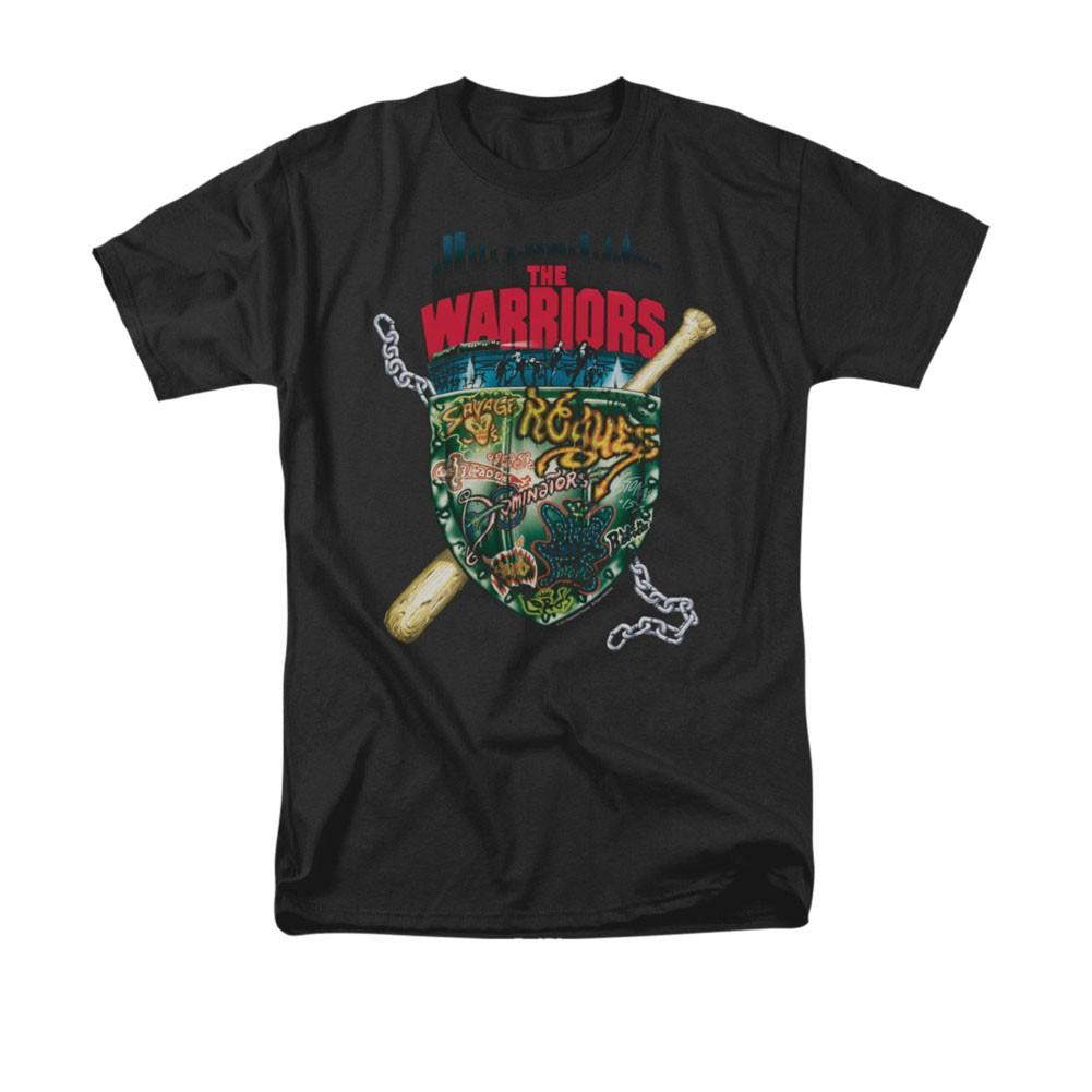 The Warriors Shield Black T-Shirt