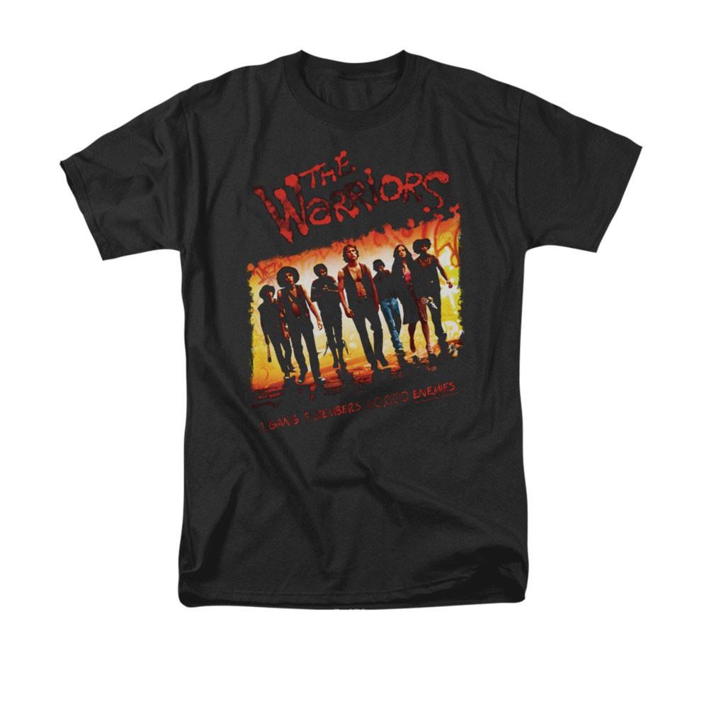 The Warriors One Gang Black T-Shirt