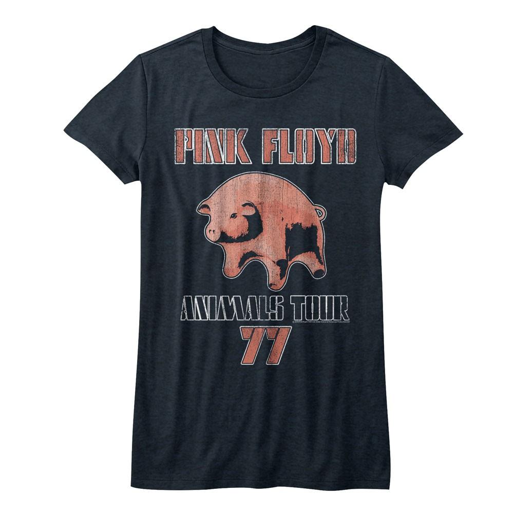 Pink Floyd Animals Tour Pig 77 Women's Tshirt