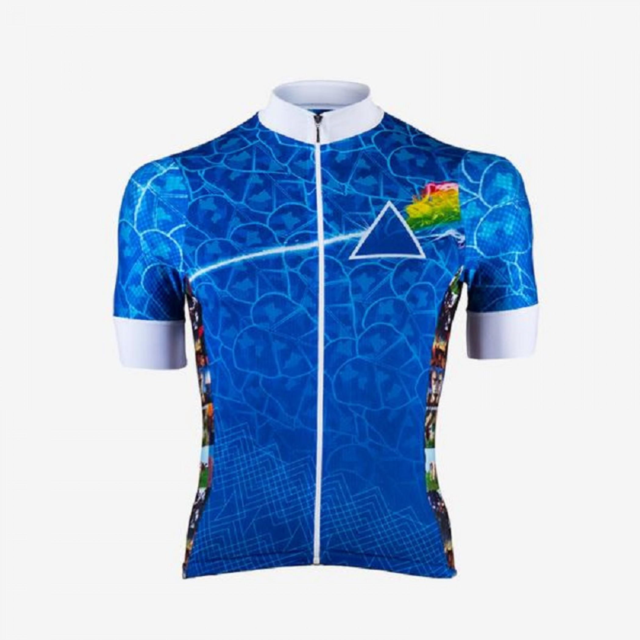 Pink Floyd Light Side Helix Men's Cycling Jersey