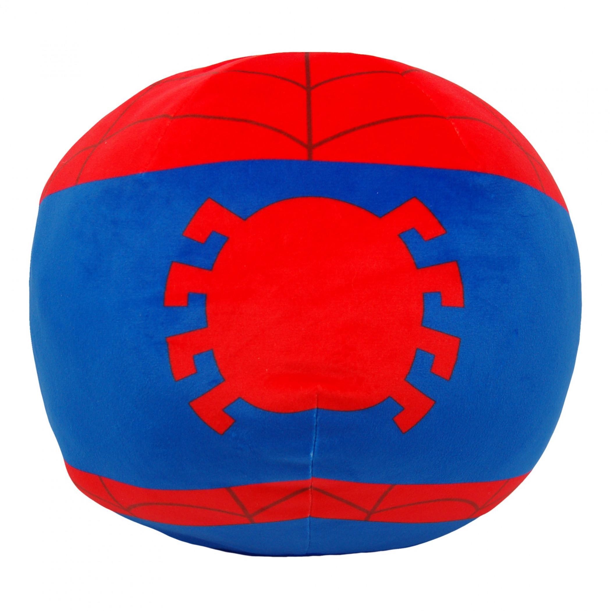 """Spider-Man Friendly Spider 11"""" Round Cloud Pillow"""