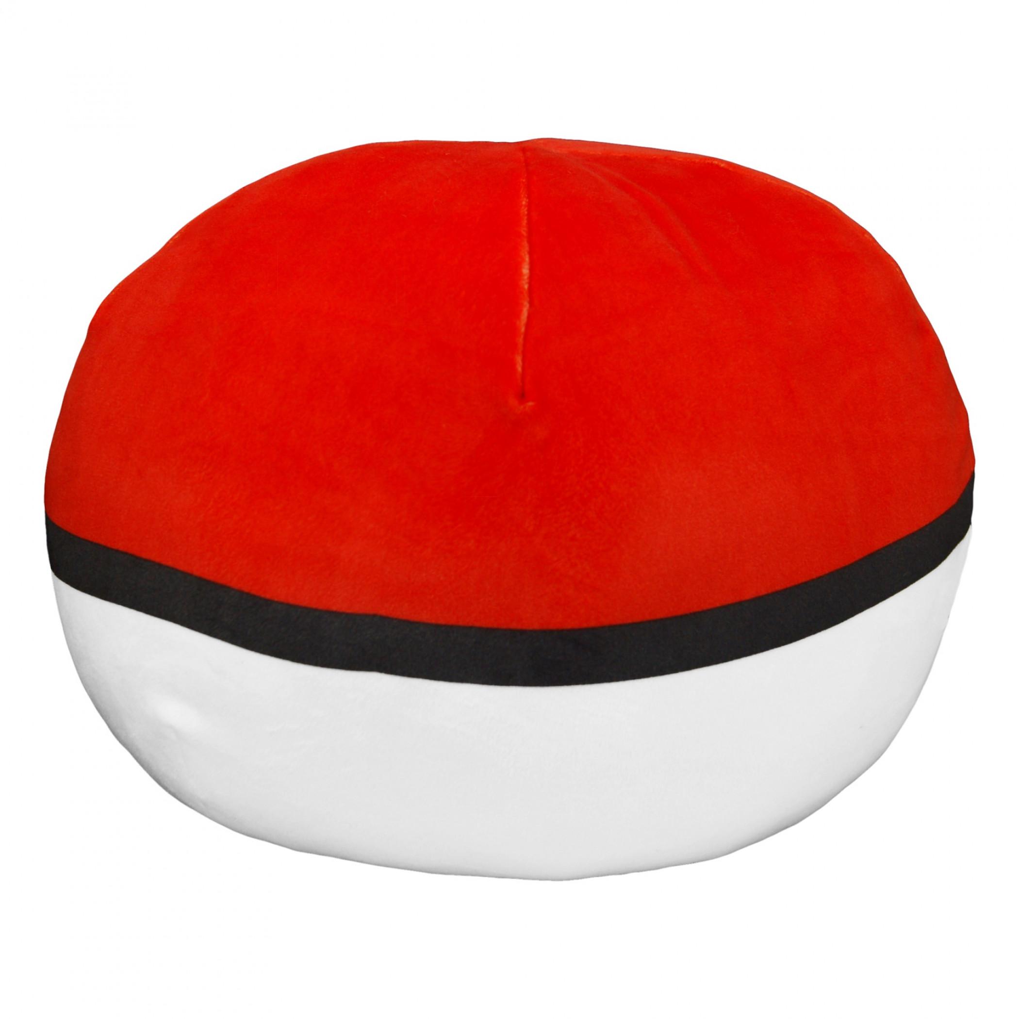 "Pokemon Pokeball 11"" Round Cloud Pillow"